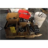 LOT CONSISTING OF: tooling, collets, drill bits, extensions