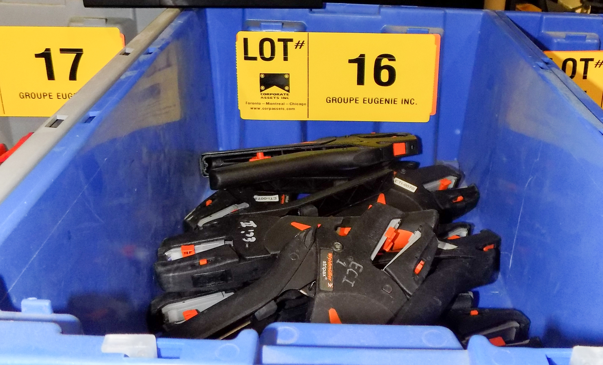 Lot 16 - LOT/ WIRE STRIPPERS