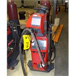 FRONIUS (2018) TPS 400I PULSE HEAVY DUTY DIGITAL MIG WELDER WITH WIRE FEEDER, CABLES AND GUN, S/N