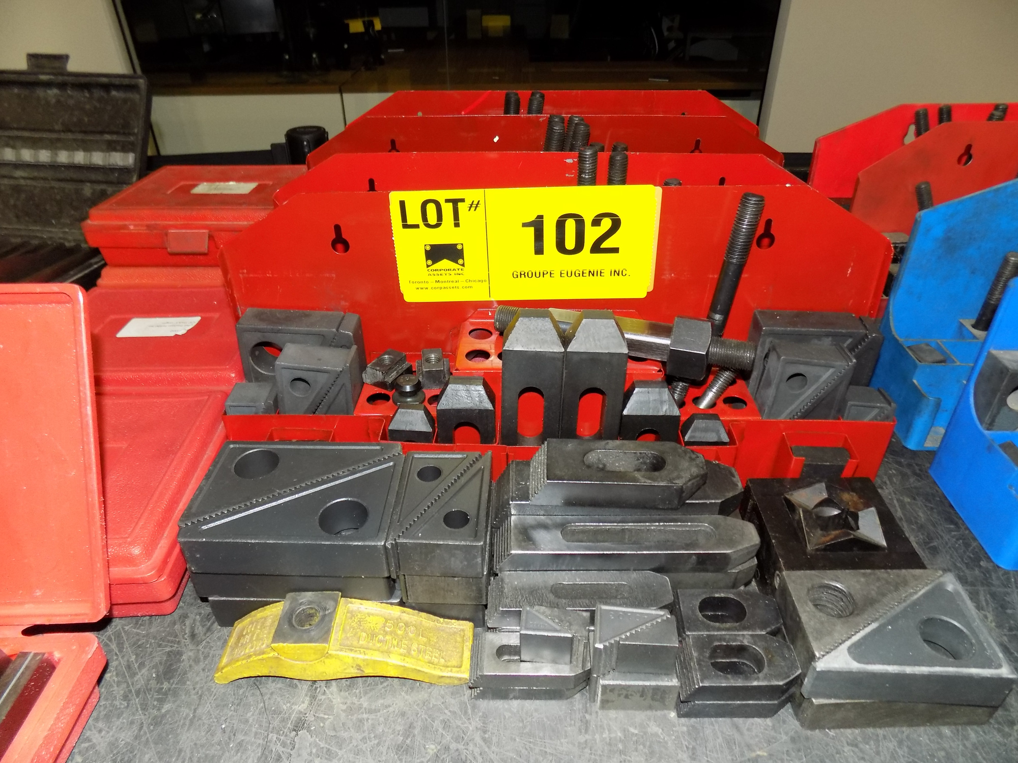 Lot 102 - LOT/ HOLD DOWN CLAMPING