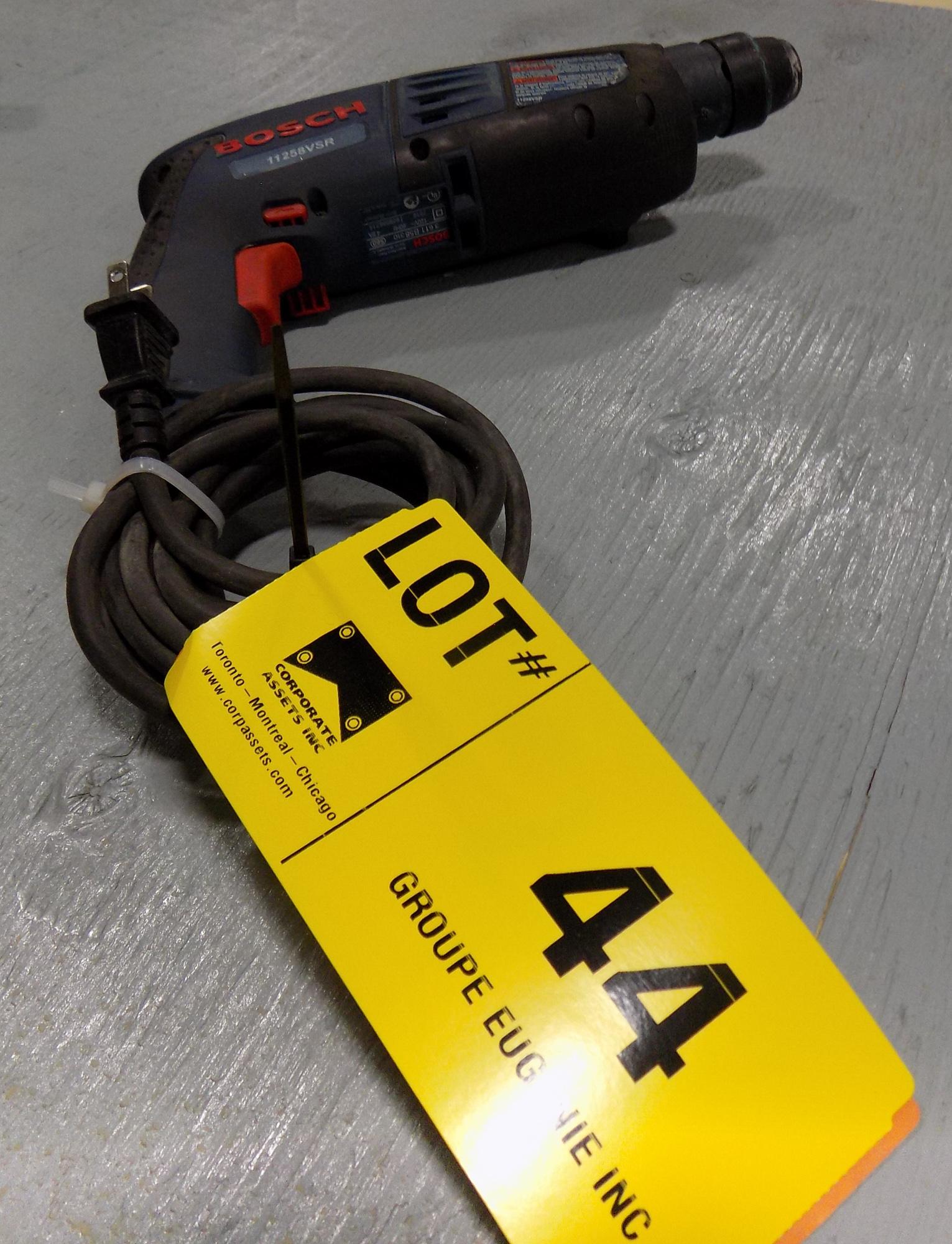 Lot 44 - BOSCH ELECTRIC DRILL