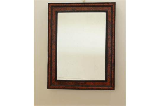 Spiegel Met Lijst : Spiegel met houten lijst wit cm van blokker op