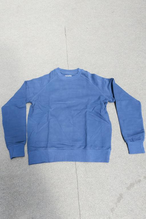 Lot 753 - 8 Other Ragian Sweatshirts Long Sleeved, Colour Navy, Sizes - 4 x XLarge, 1 x Large, 3 x Small
