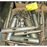 ASSORTED MORSE TAPER HOLDERS