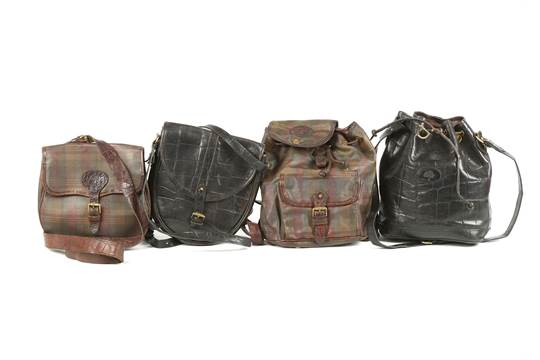 Four Vintage Mulberry Handbags To