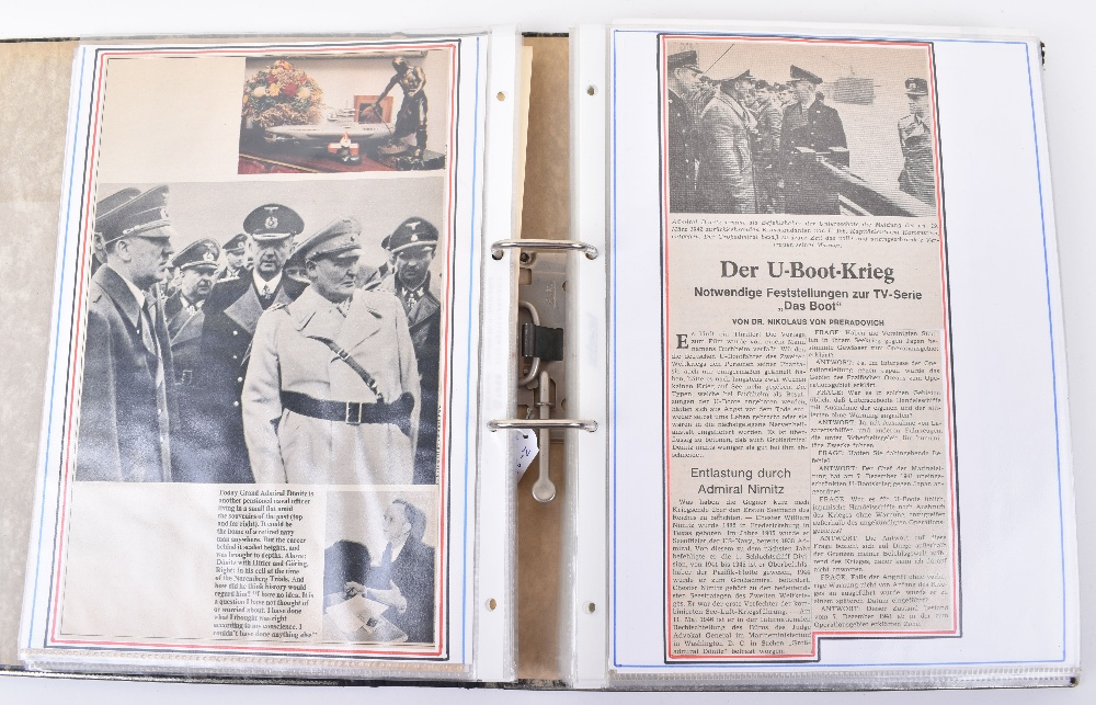 Grand Admirals Baton Given to Grand Admiral Karl Donitz in the Post War Years to Replace the Origina - Image 21 of 23