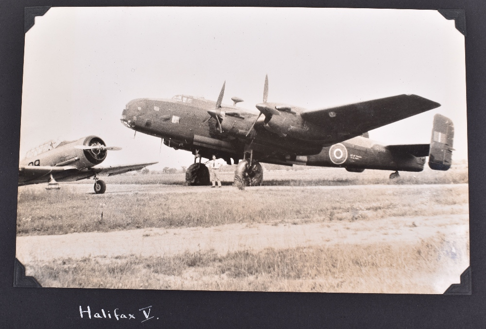 """Lot 13 - Royal Canadian Air Force (RCAF) Photograph Album """"Travels in Canada and the U.S.A. 1944"""""""