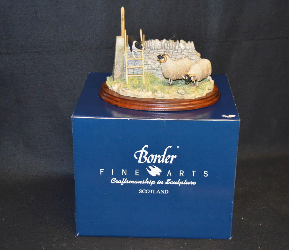Lot 441 - A Border Fine Art Figurine 'Element of Suprise'