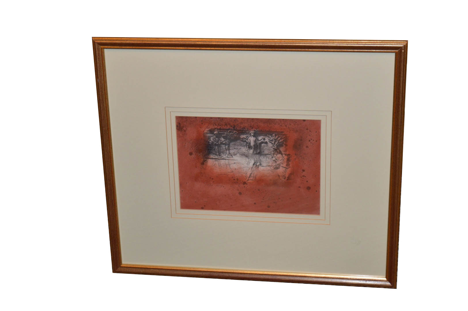 Lot 497 - A Mixed Media Painting 'Judith Among the Elders' - Ross Wilson