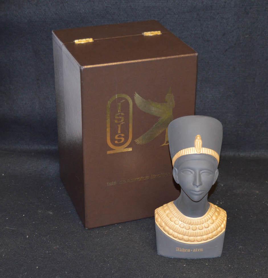 Lot 58 - A Ceramic Limited 'Akhen-aten' Egyptian Head