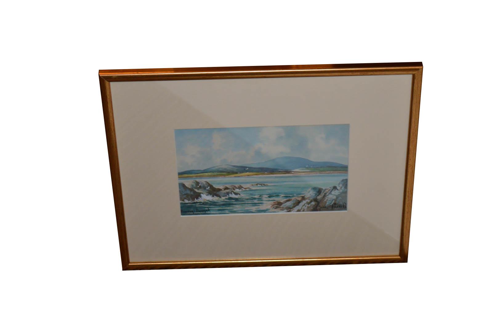 Lot 454 - An Oil Painting 'Bunbeg Donegal' - G Farrell