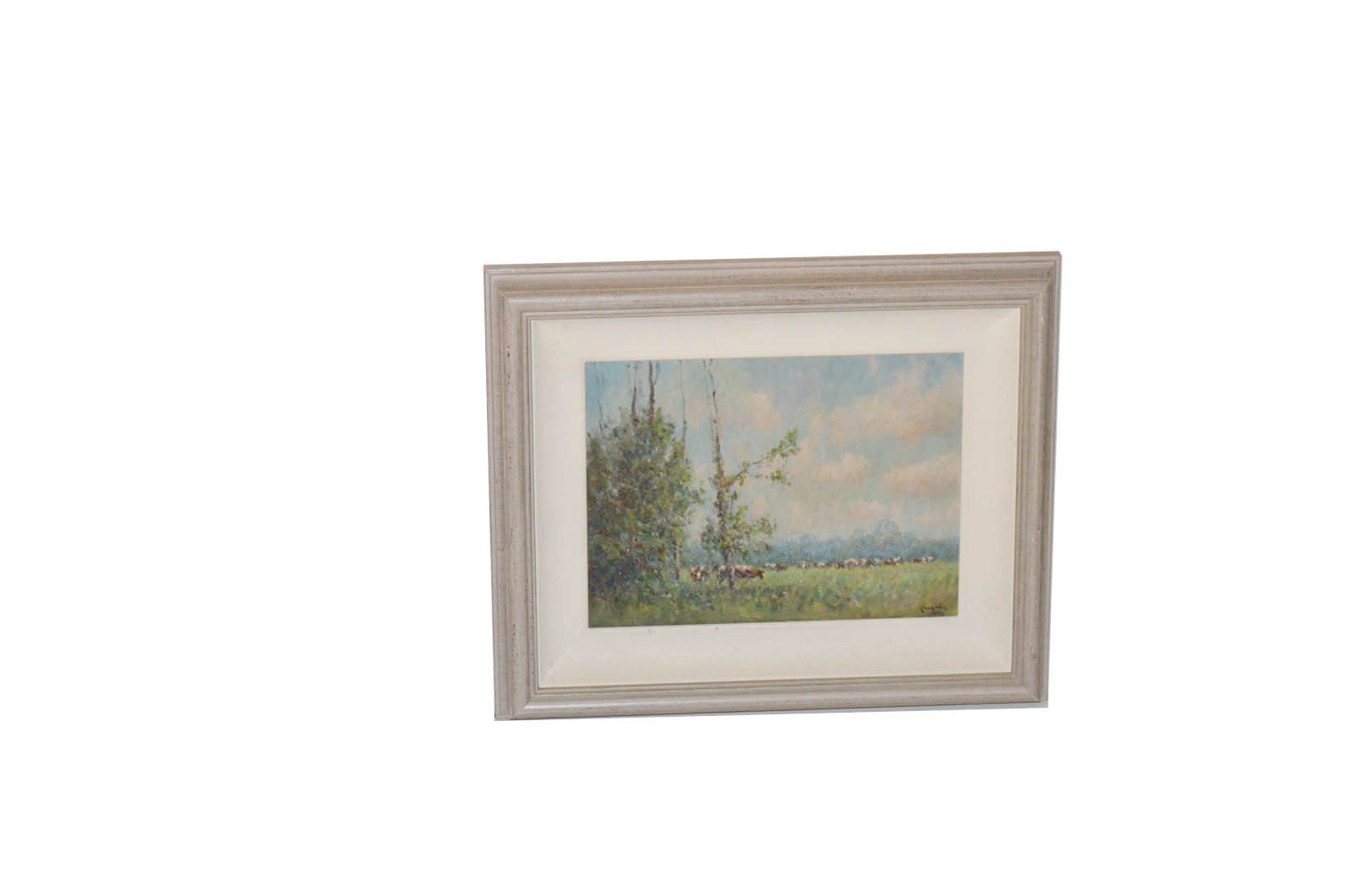 Lot 456 - An Oil Painting 'Summer' - Wilfred Haughton