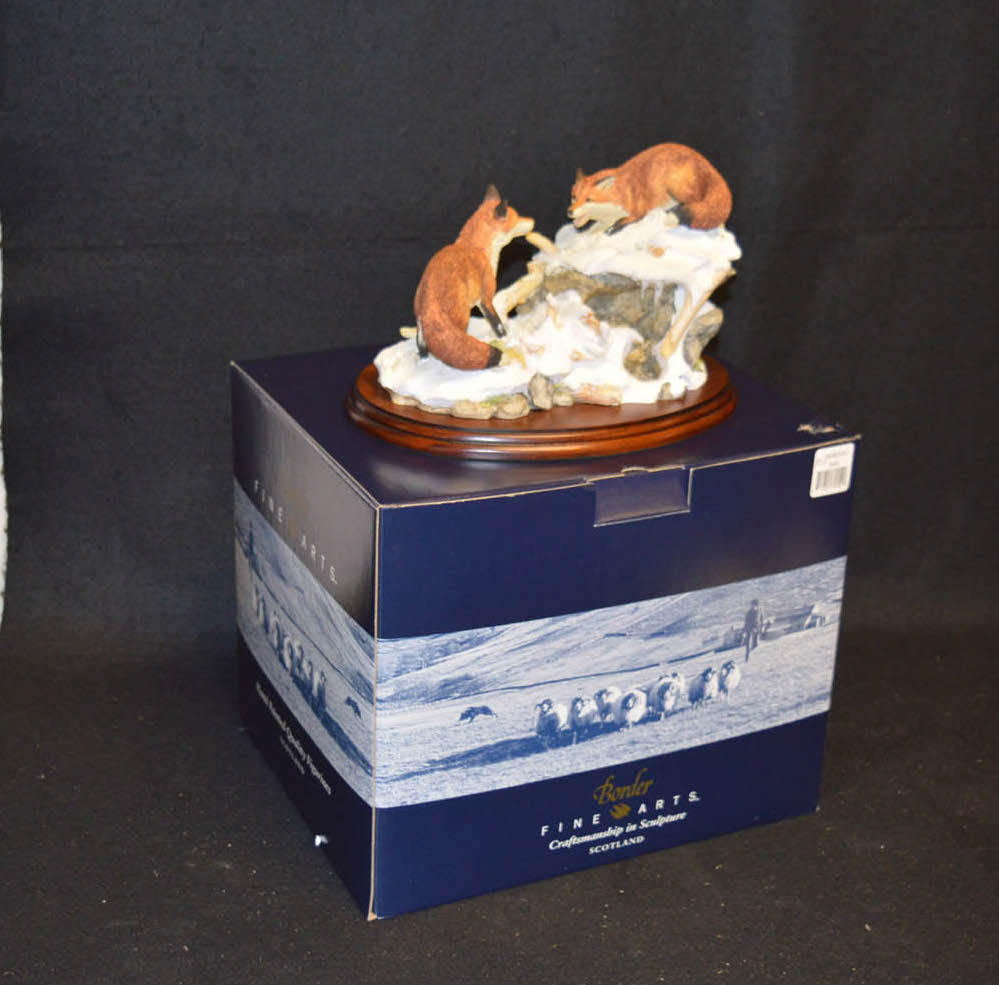Lot 442 - A Border Fine Art Figurine 'Cool Reception'