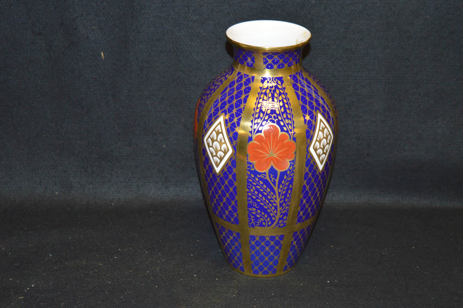 Lot 33 - A Caverswall China, Romany Thames Vase