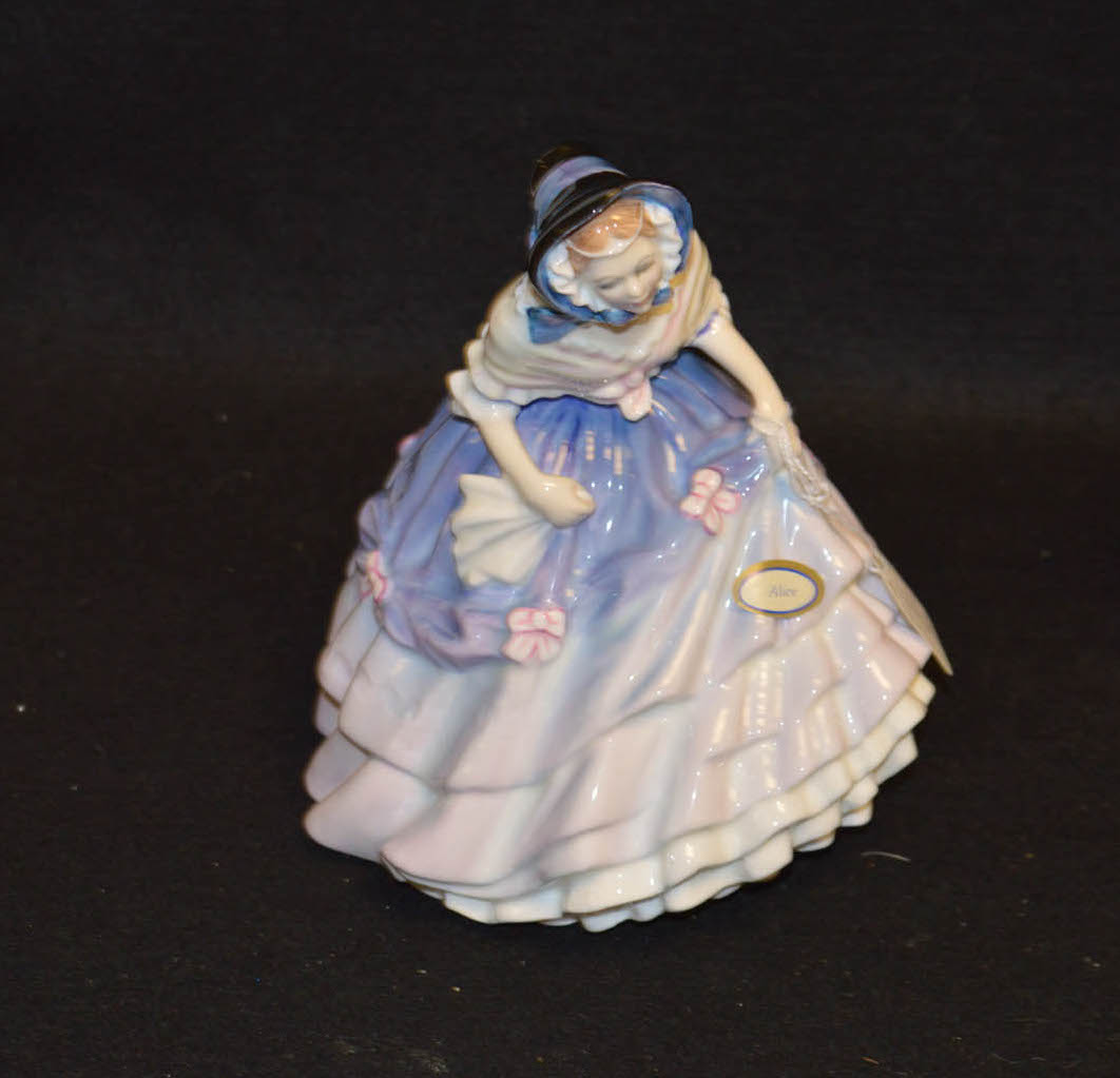 Lot 21 - A Royal Doulton 'Alice' Figurine