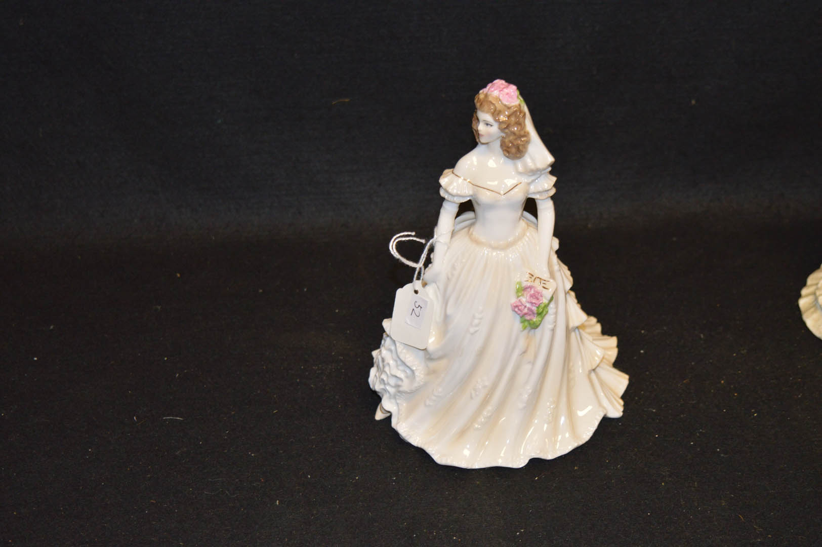 Lot 17 - A Royal Worcester Figurine 'Wedding Day'