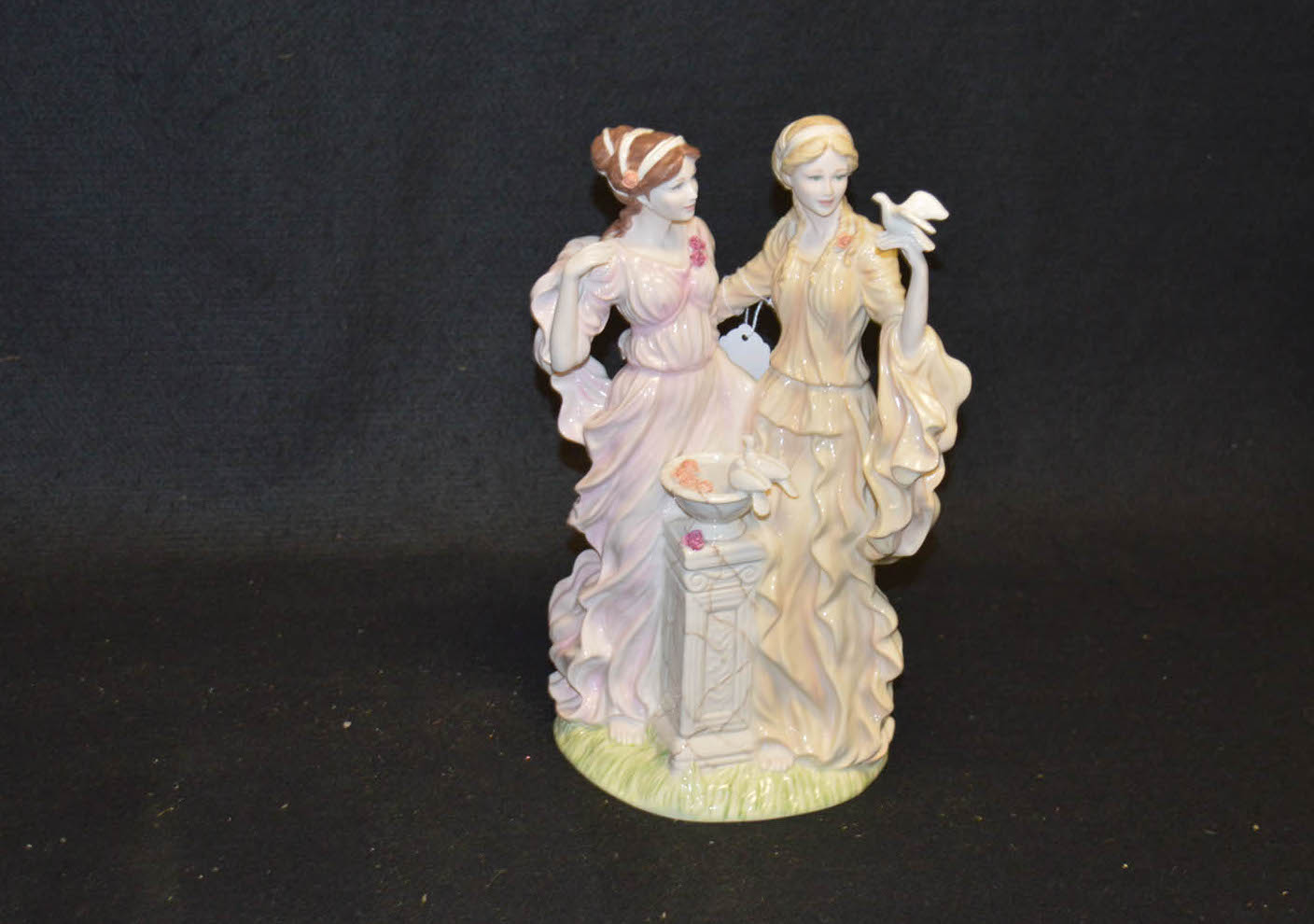 Lot 32 - A Limited Edition Wedgwood Figurine 'Peace and Friendship'