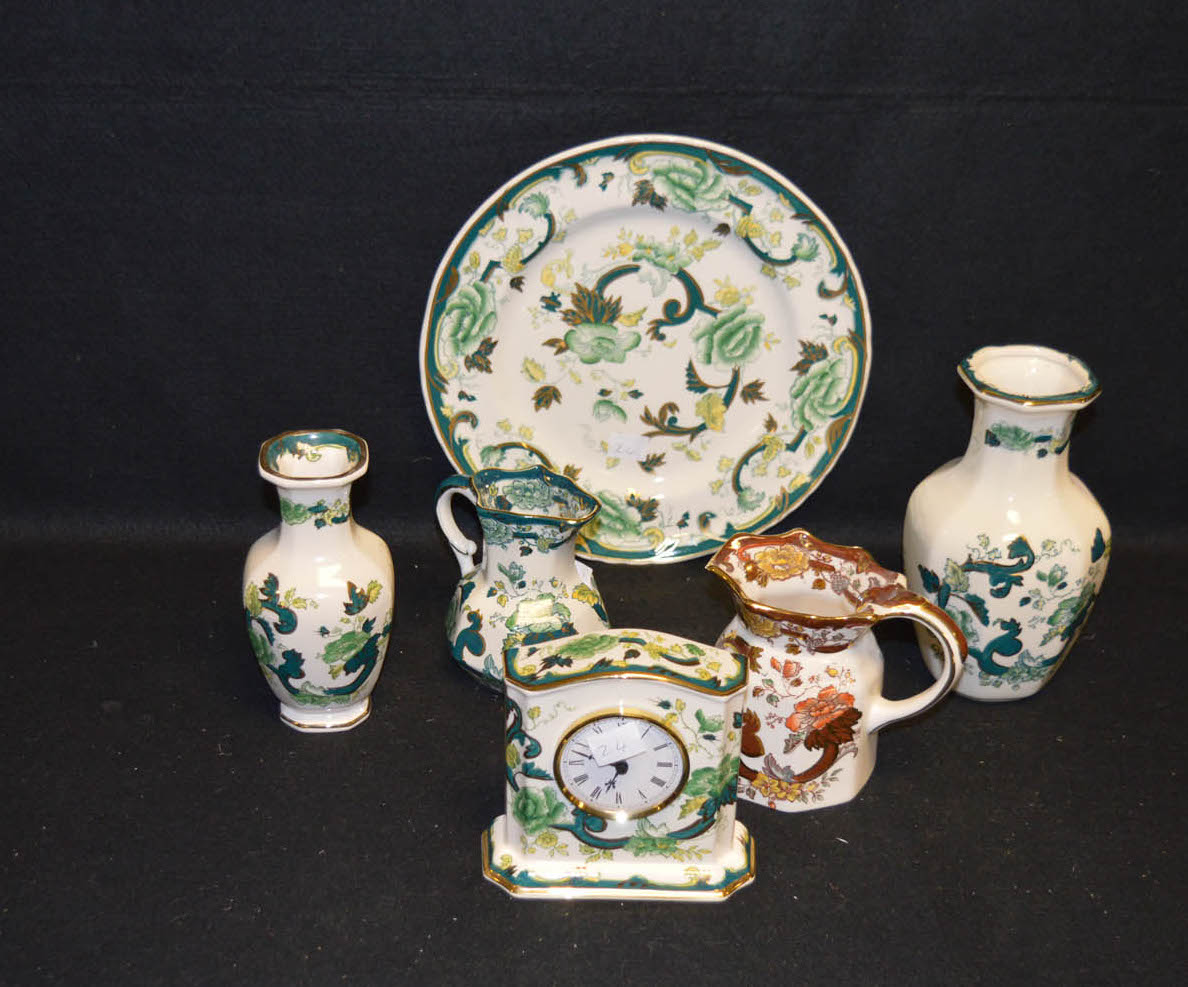 Lot 14 - A Collection of Six Pieces of Masons Ironstone Ware