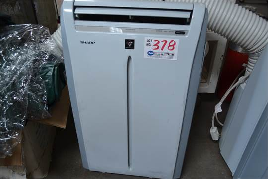 Sharp Model Cv 2p10sc Ion Generator Portable Air Conditioner