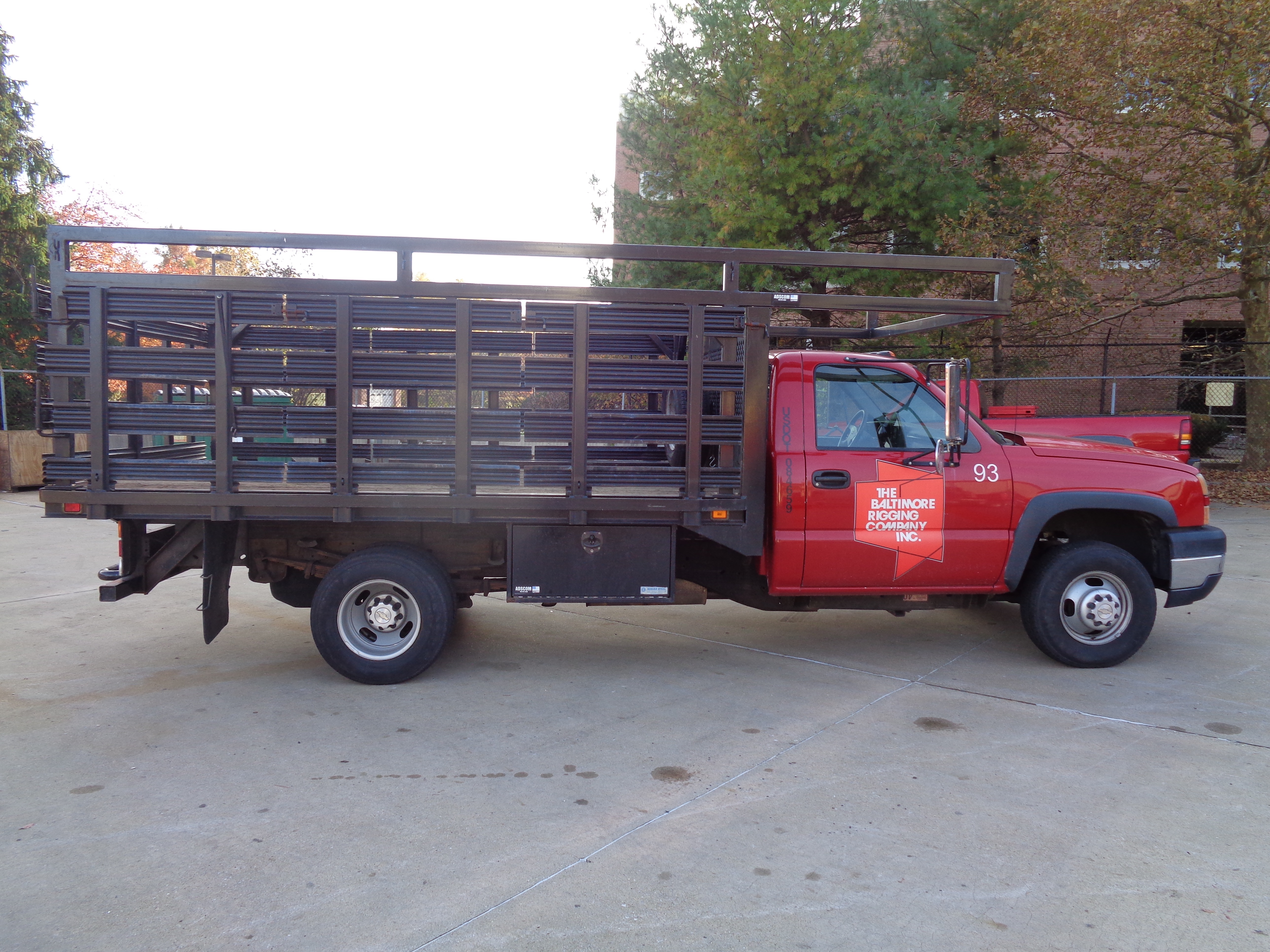 2006 Chevy 3500 Stake Pick-Up Truck - Image 4 of 9