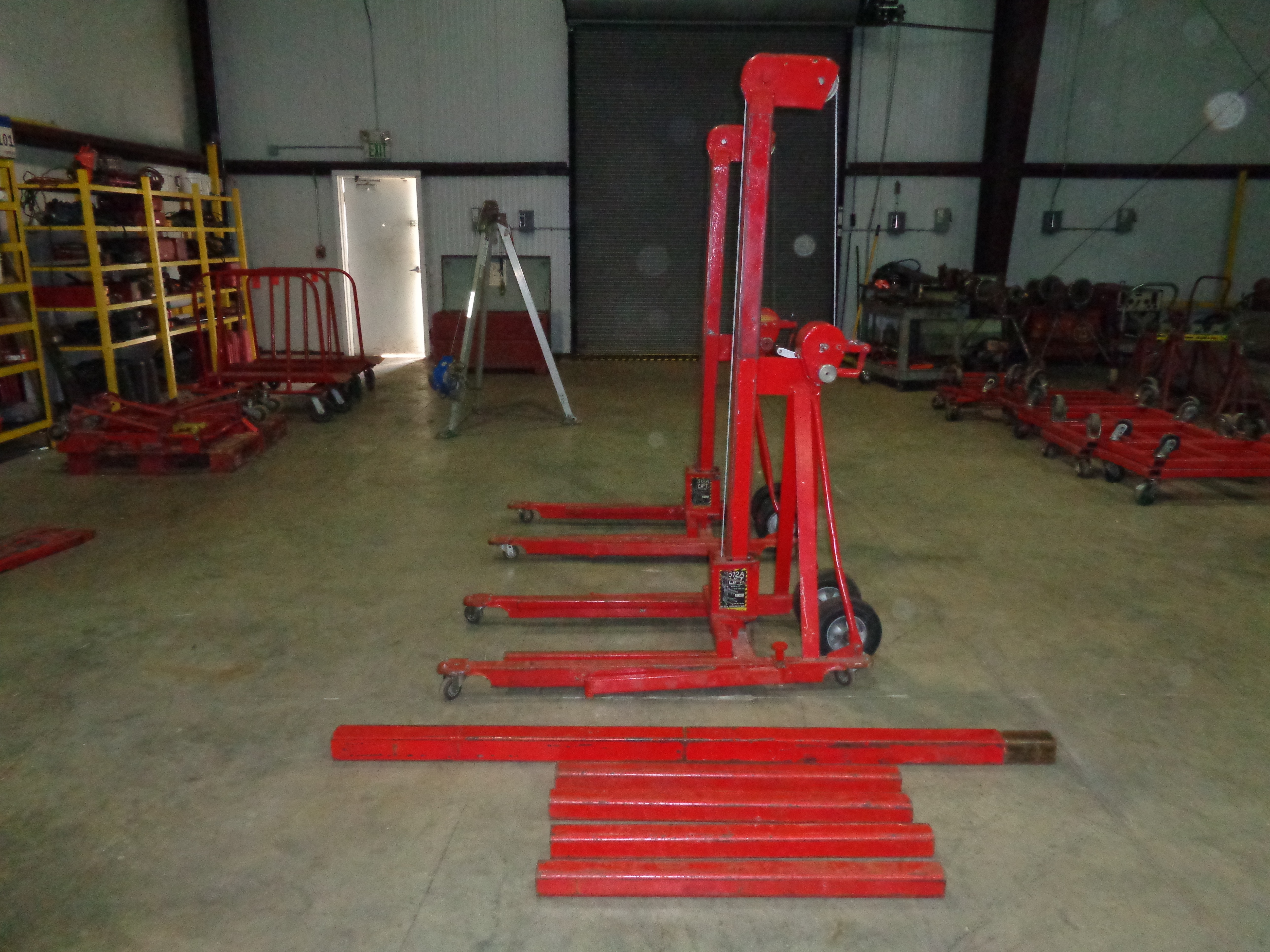 Lot of 2 - 500 lb 512A Lifts - Image 3 of 4