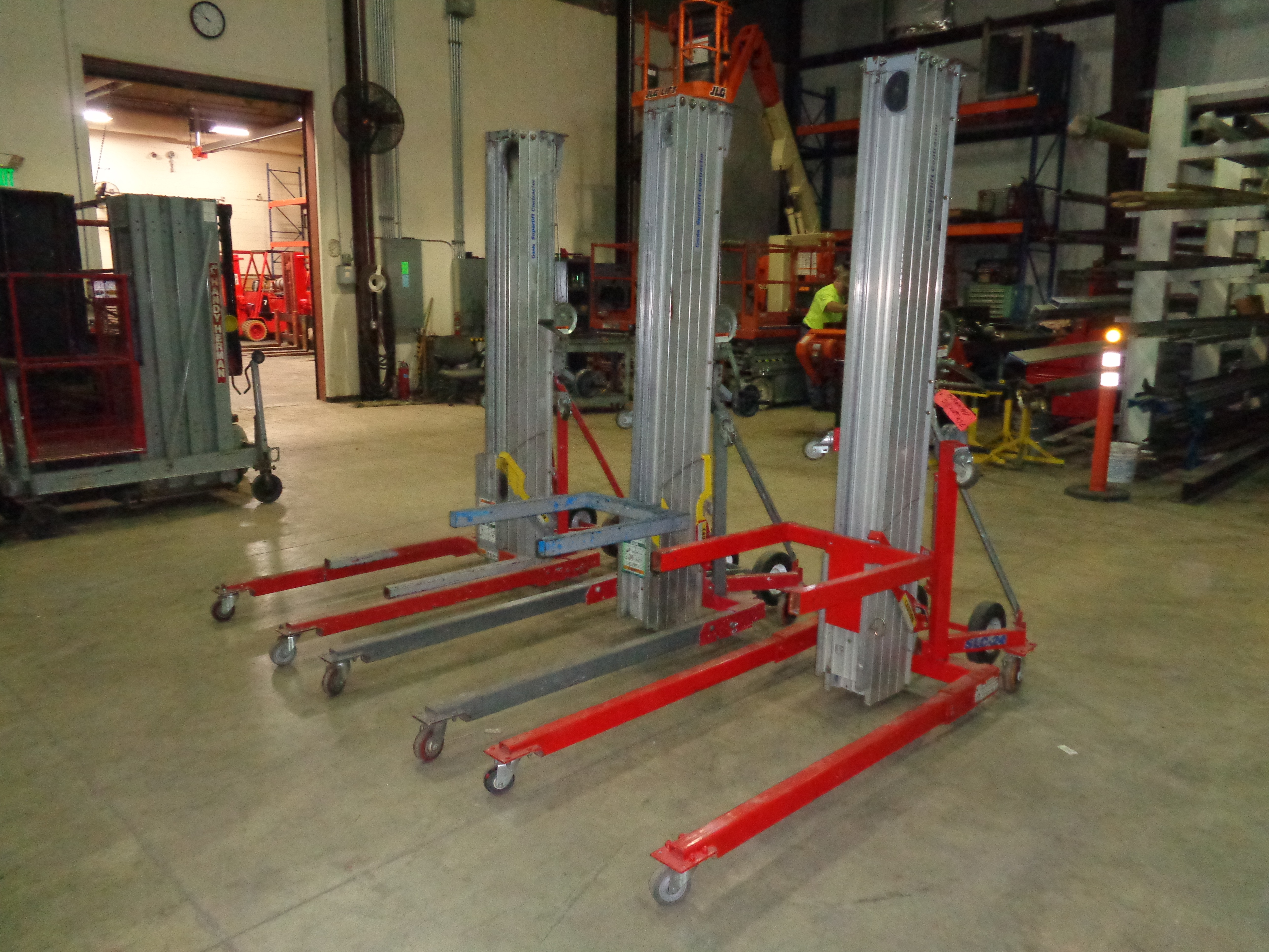 Lot of 3 Genie SLC-24 Duct Lifts - Image 3 of 4