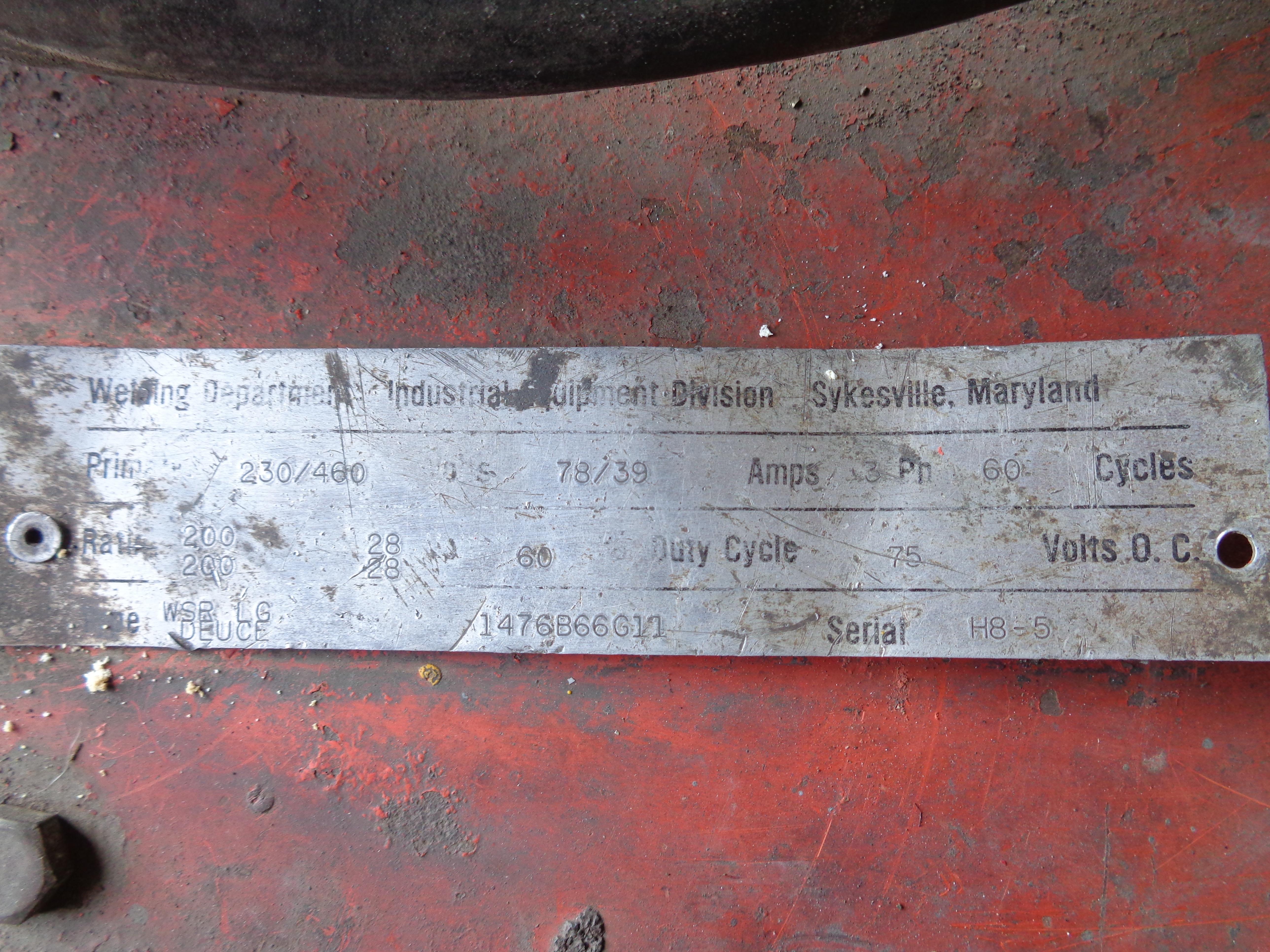 Westinghouse Welder H8-5 - Image 5 of 5