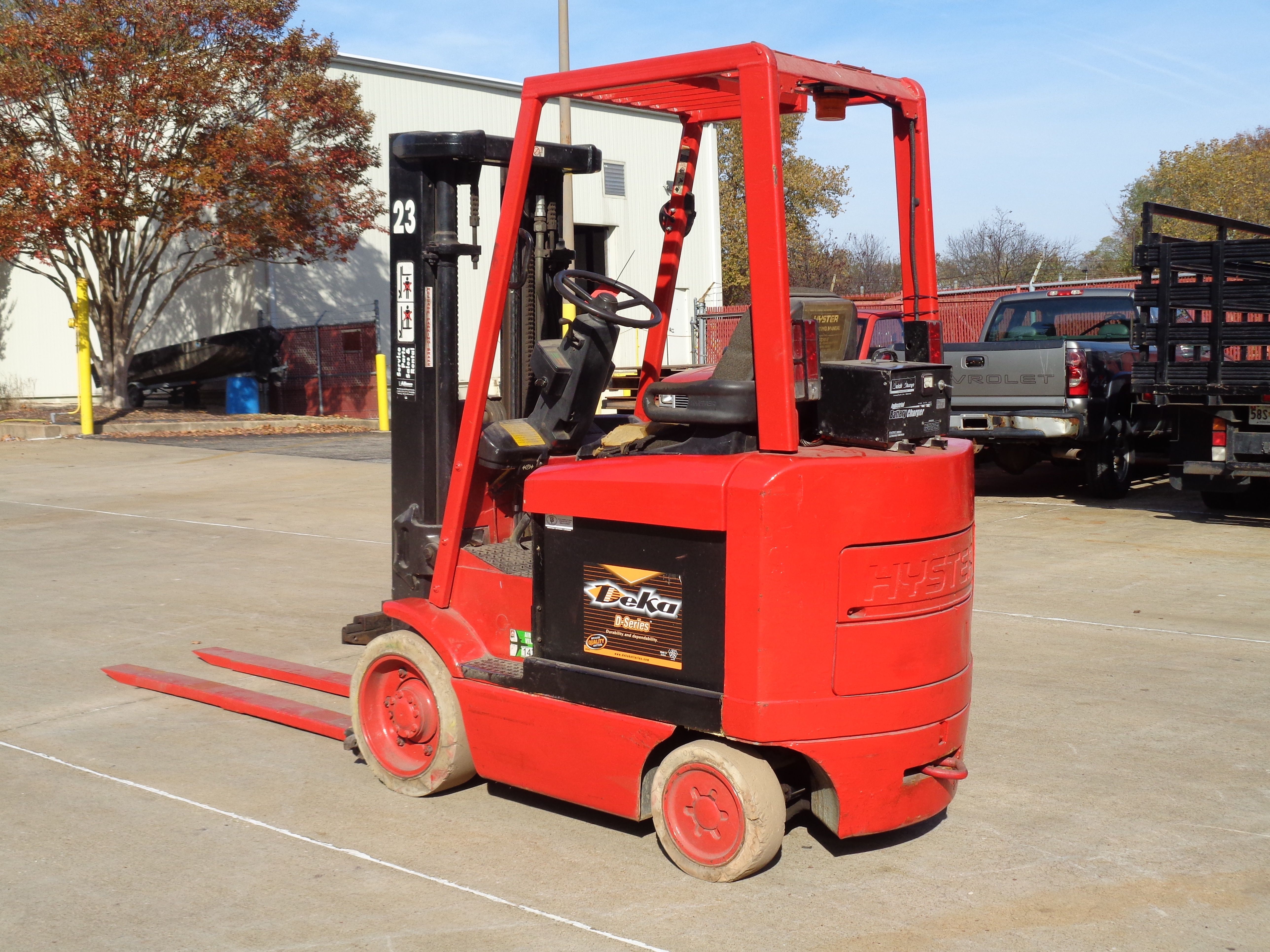 1999 Hyster E50XM-27 Forklift - 5,000 lbs - Image 3 of 5