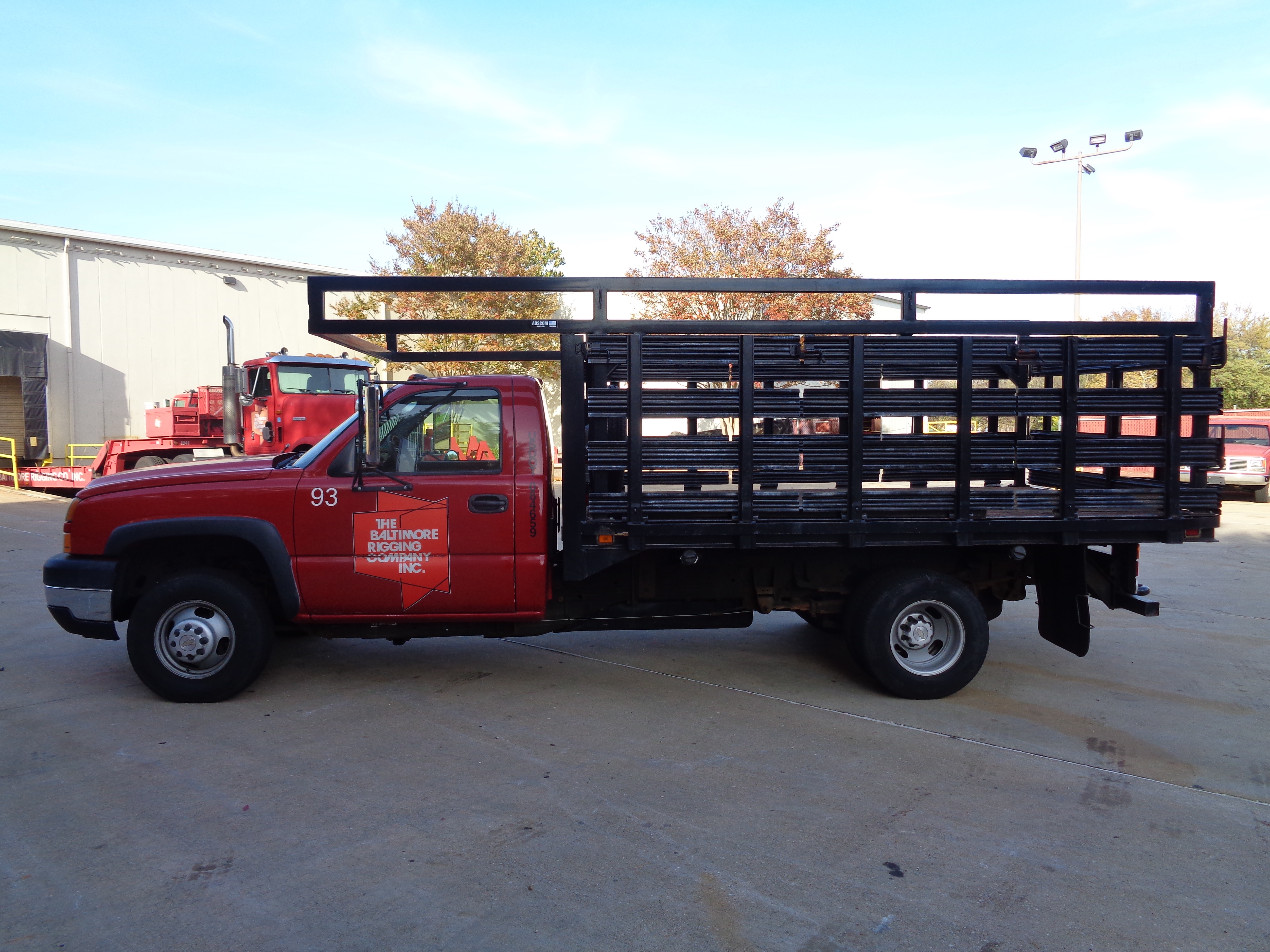 2006 Chevy 3500 Stake Pick-Up Truck