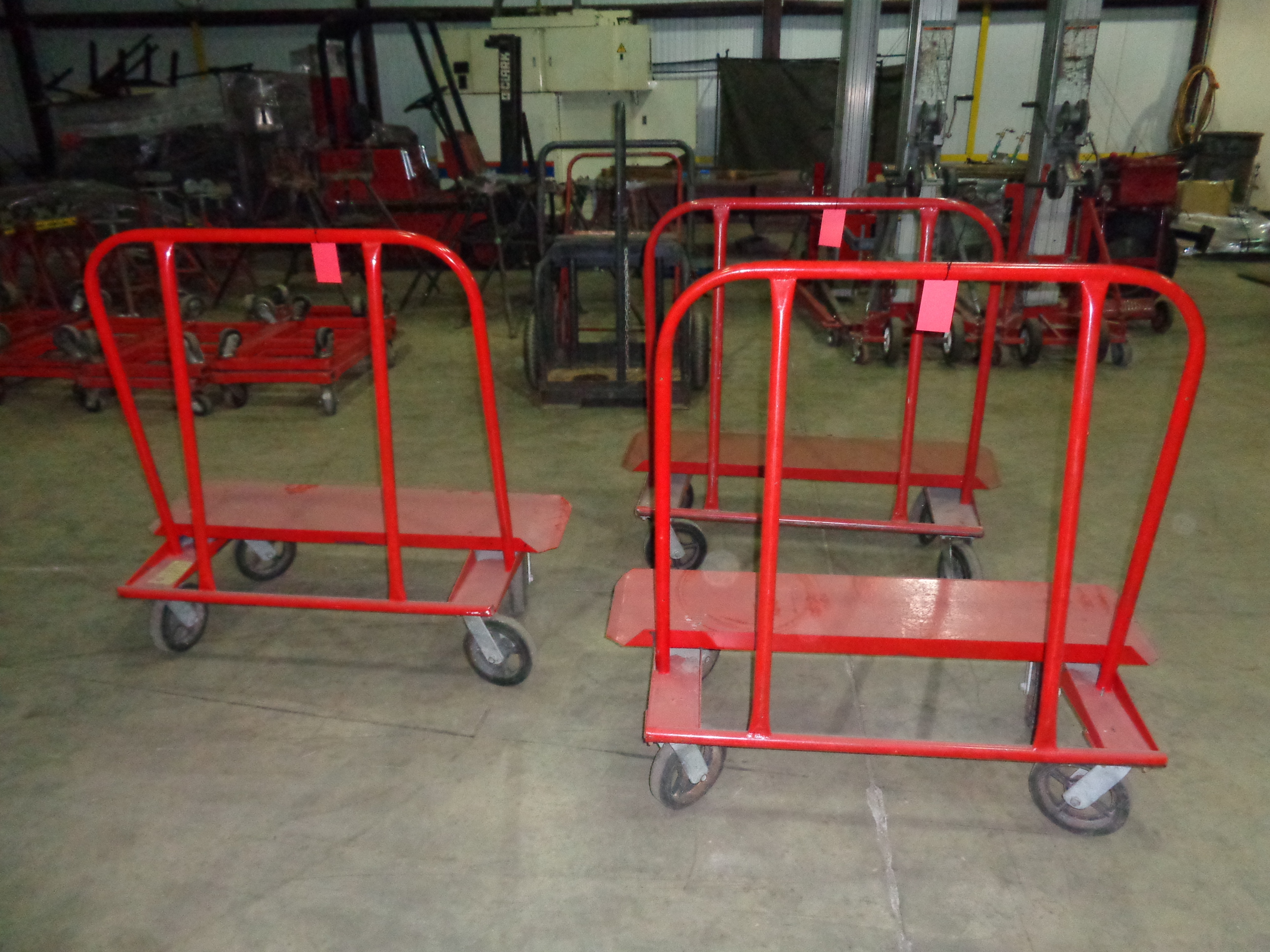 Lot of 3 - Jescraft Sheetrock Carts - Image 2 of 4