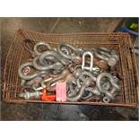 Wire Basket of Shackles Assortment