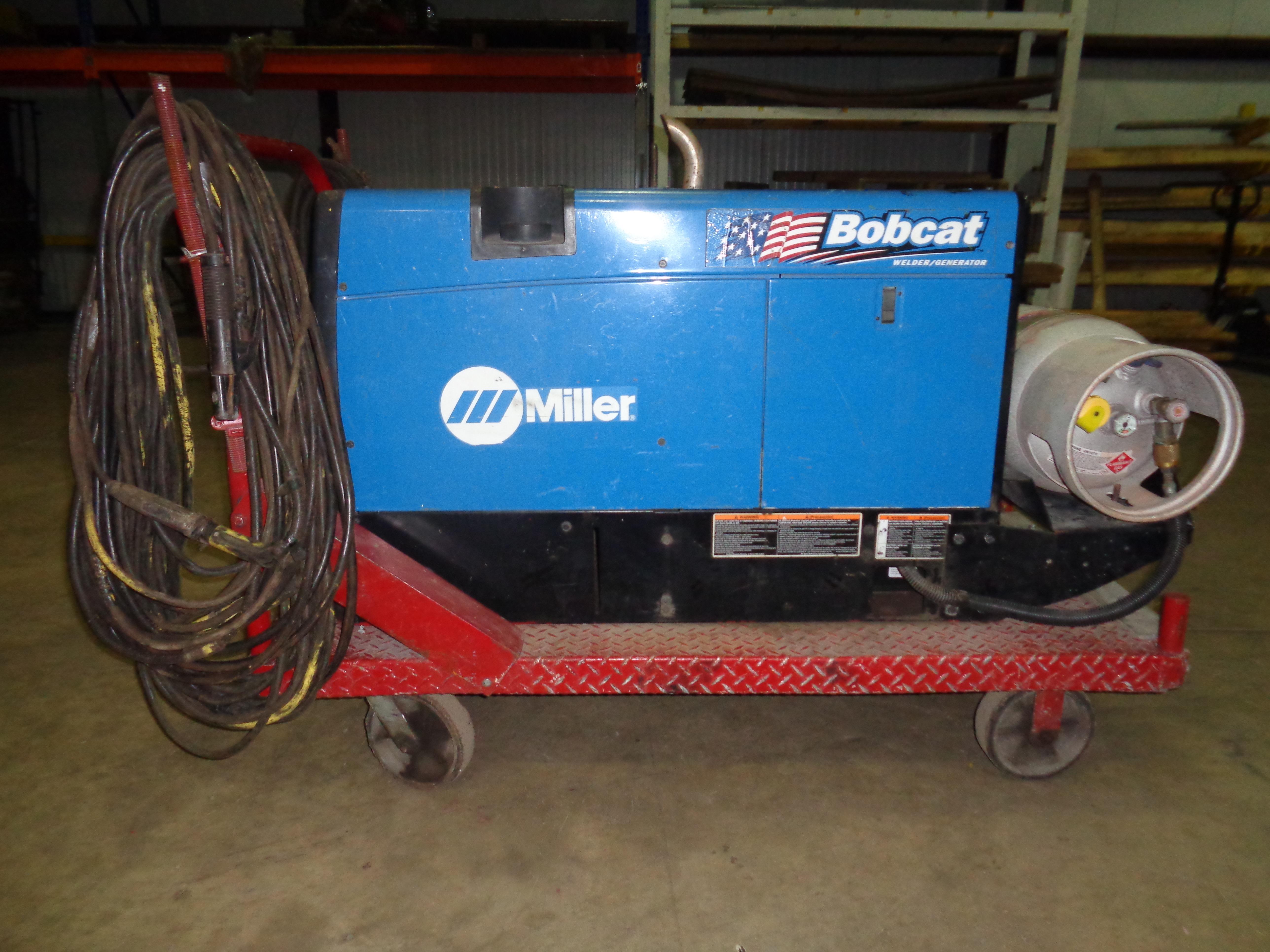 Miller Bobcat 250 Welder - Image 2 of 5