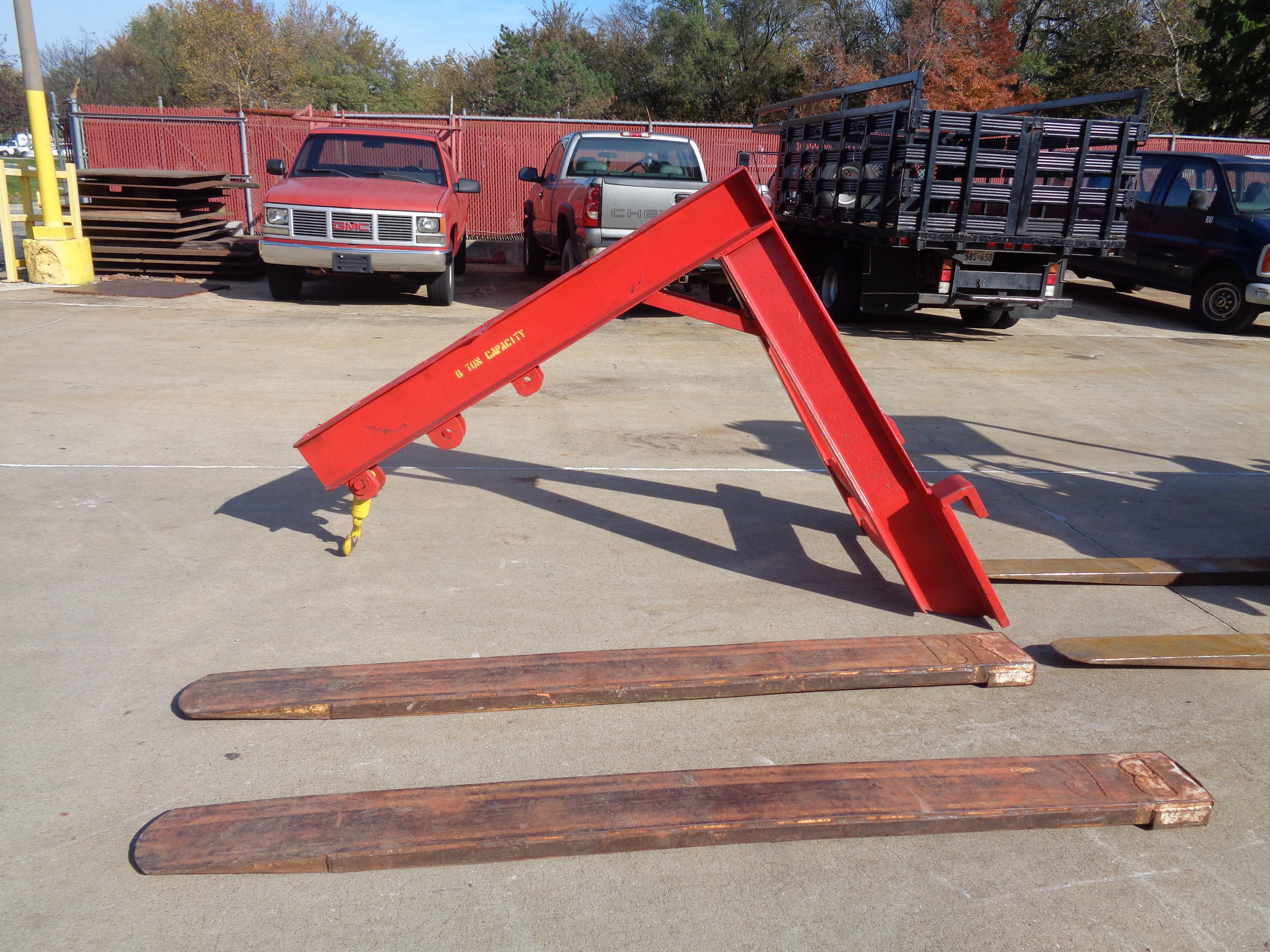 Clark C500-135 Forklift plus Boom- 14,000 lbs - Image 11 of 11