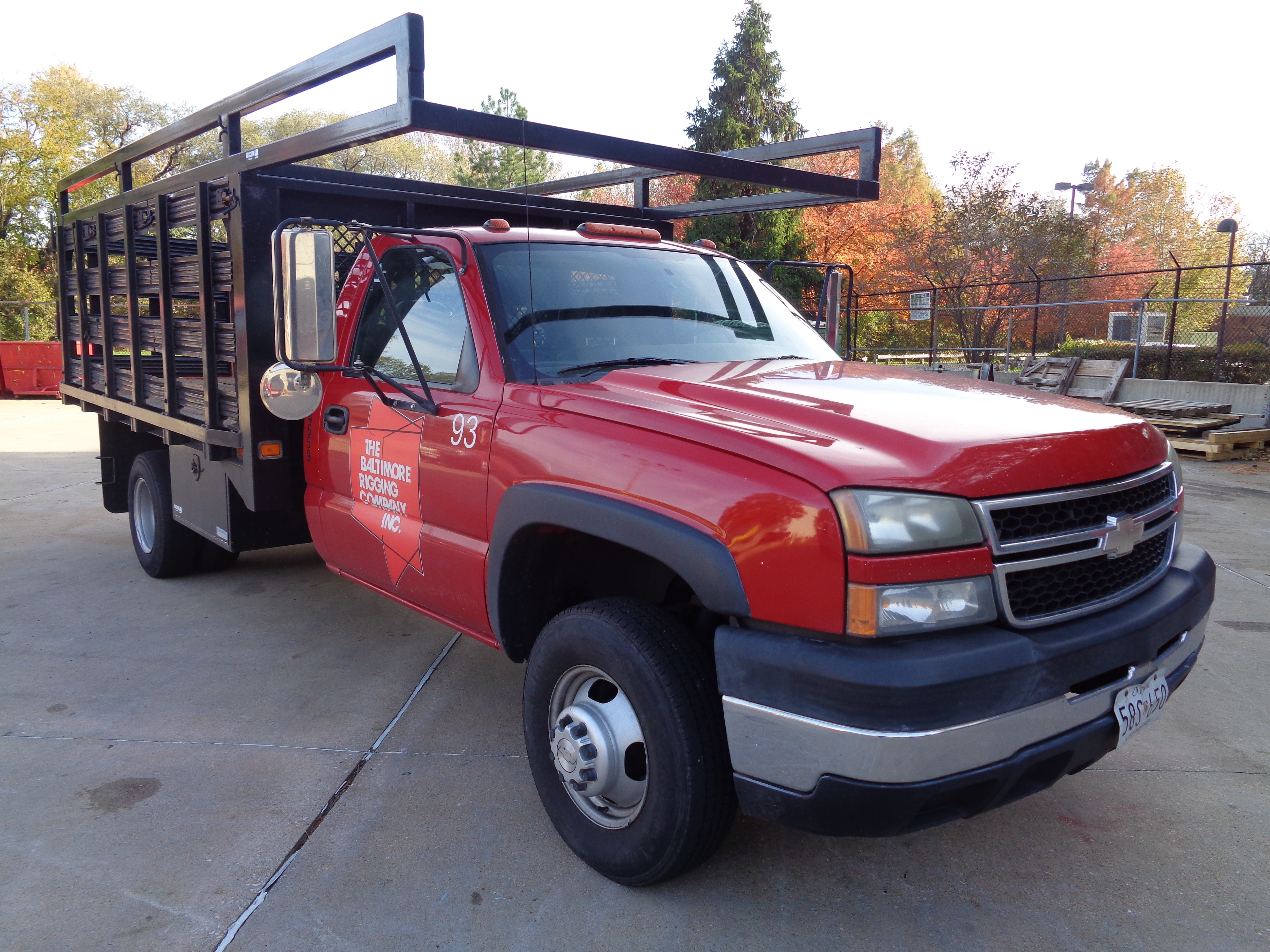 2006 Chevy 3500 Stake Pick-Up Truck - Image 5 of 9