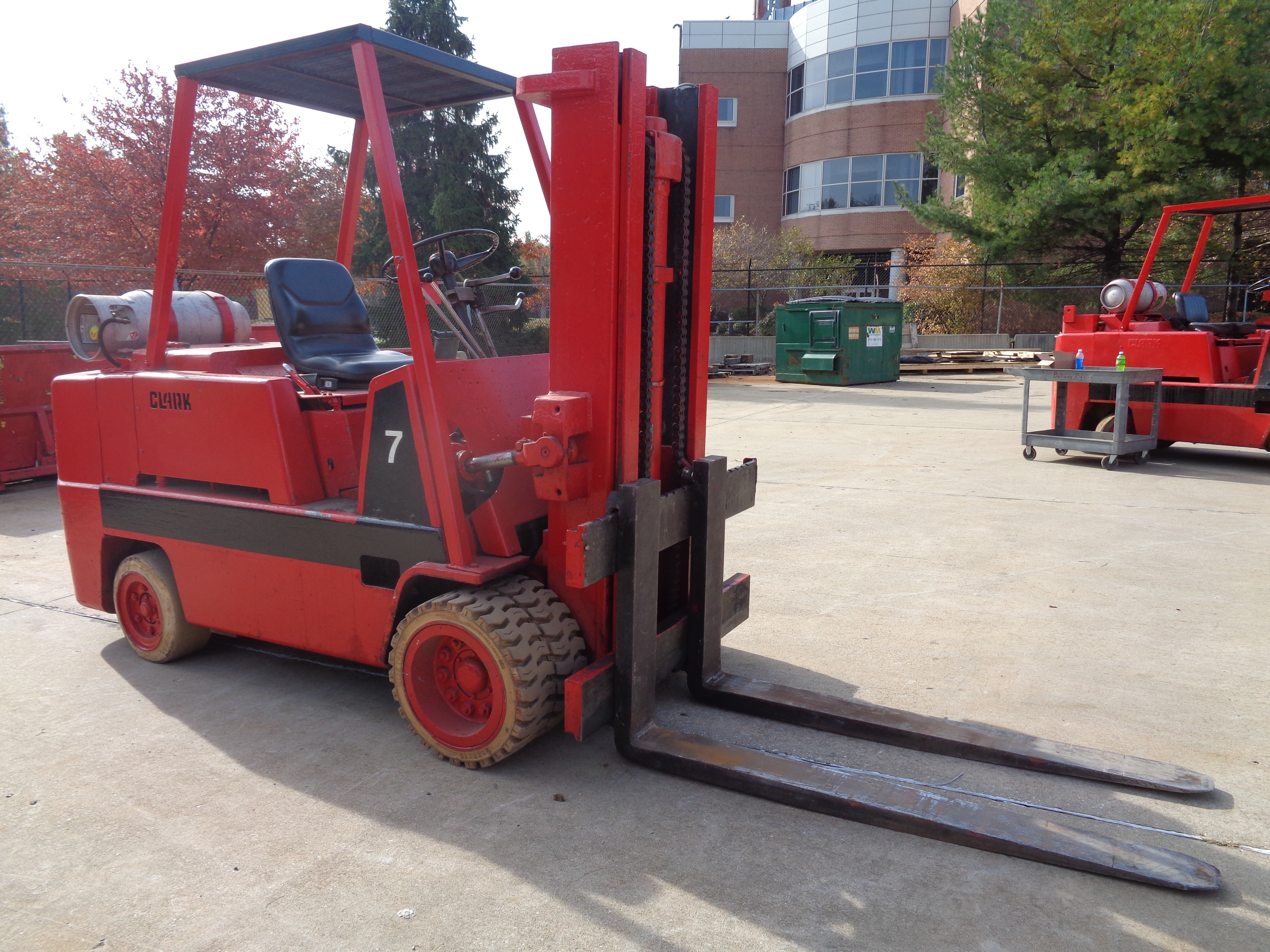 Clark C500-H120 Forklift- 12,000 lbs - Image 9 of 10