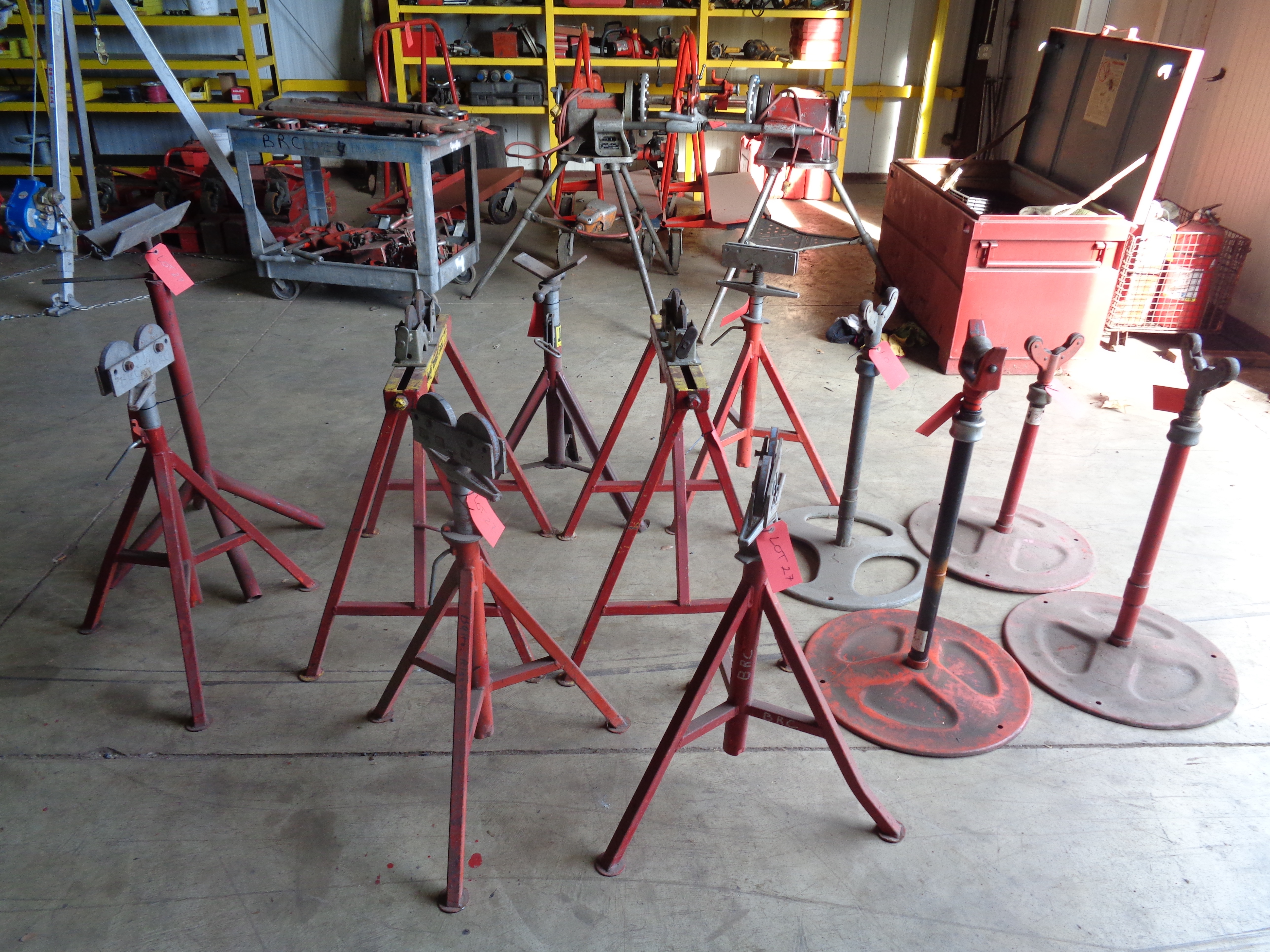 Pipe Stands - Image 3 of 4