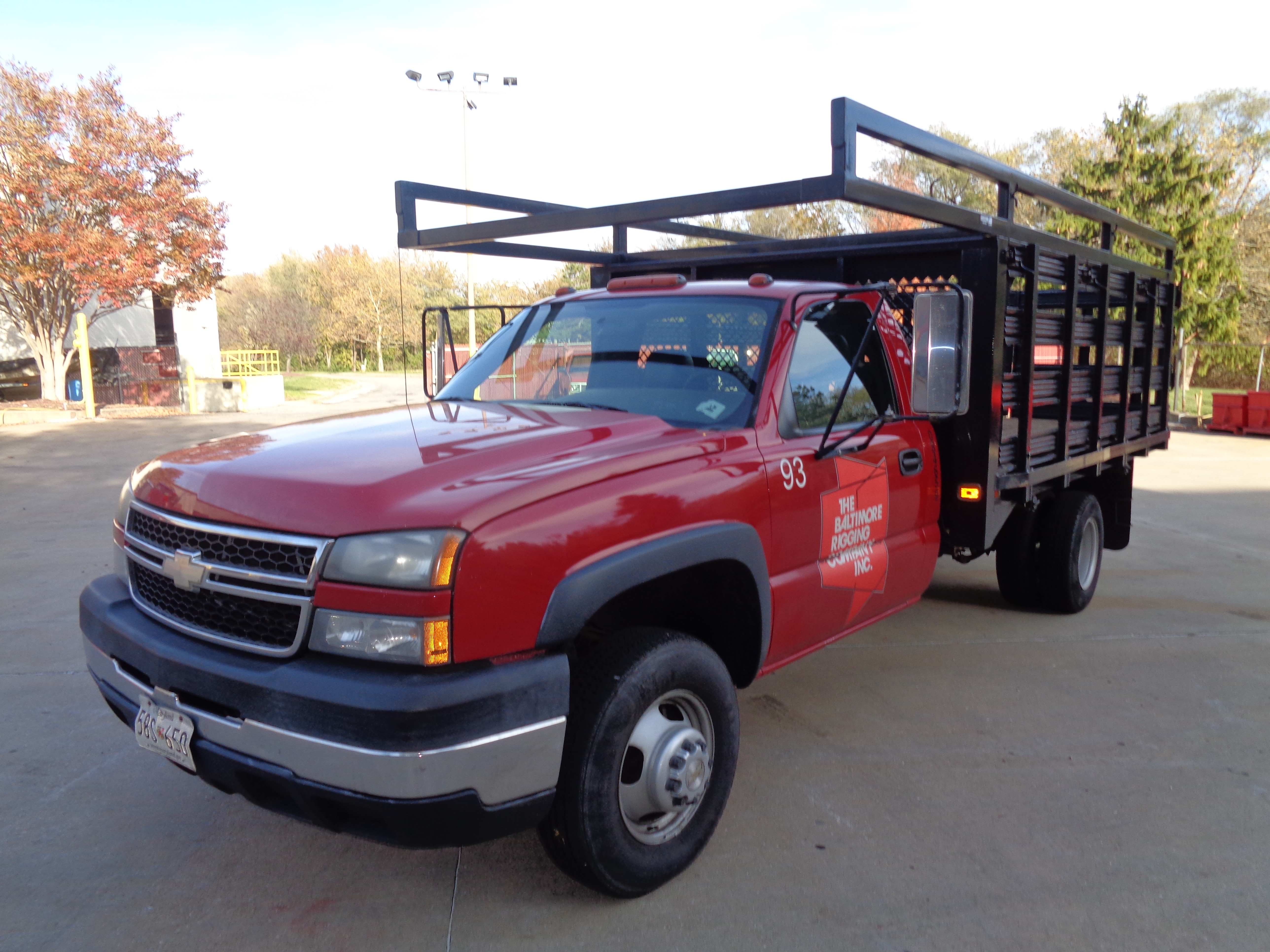 2006 Chevy 3500 Stake Pick-Up Truck - Image 2 of 9
