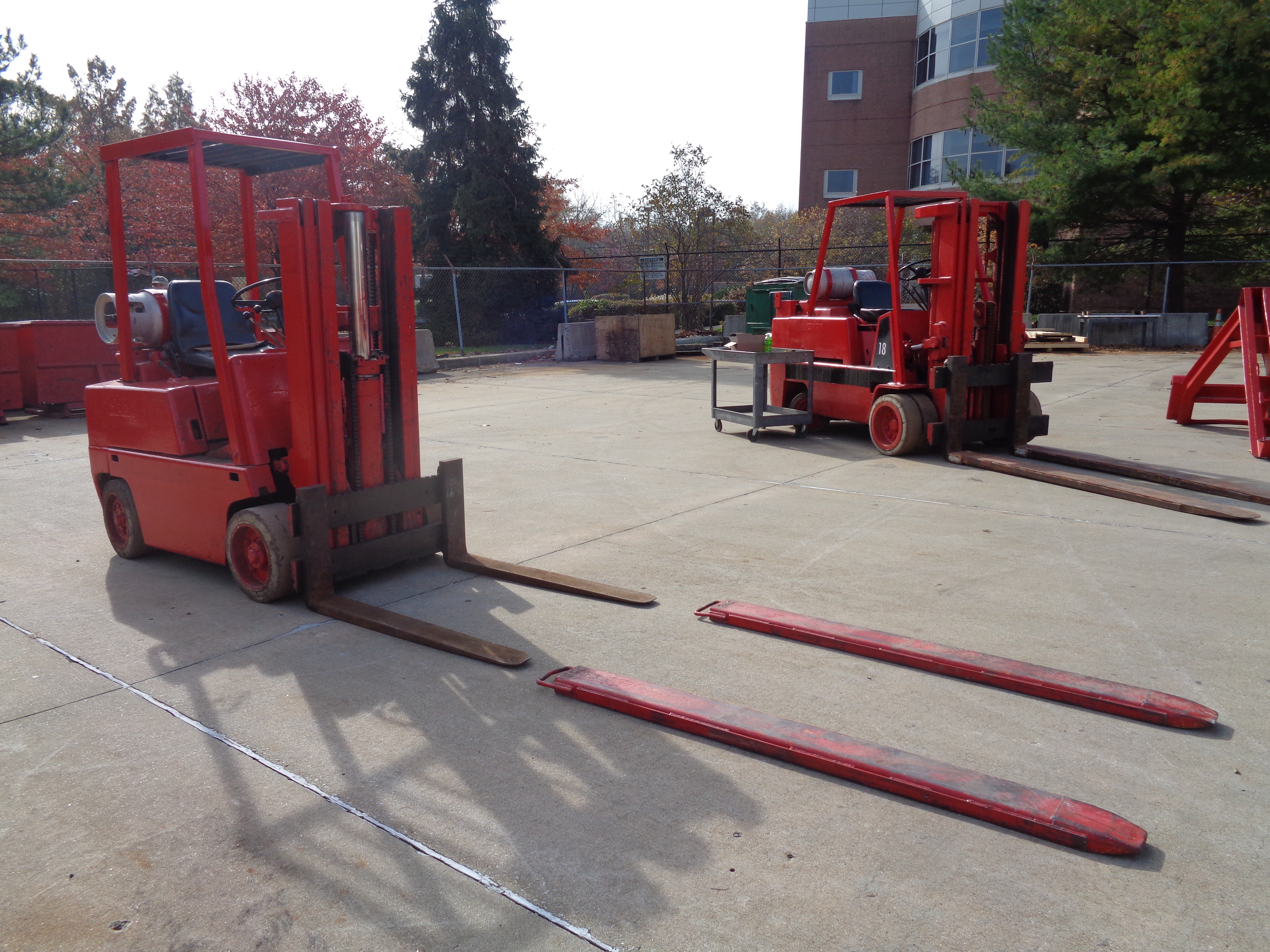 Clark C500-45 Forklift- 4,500 lbs - Image 10 of 10