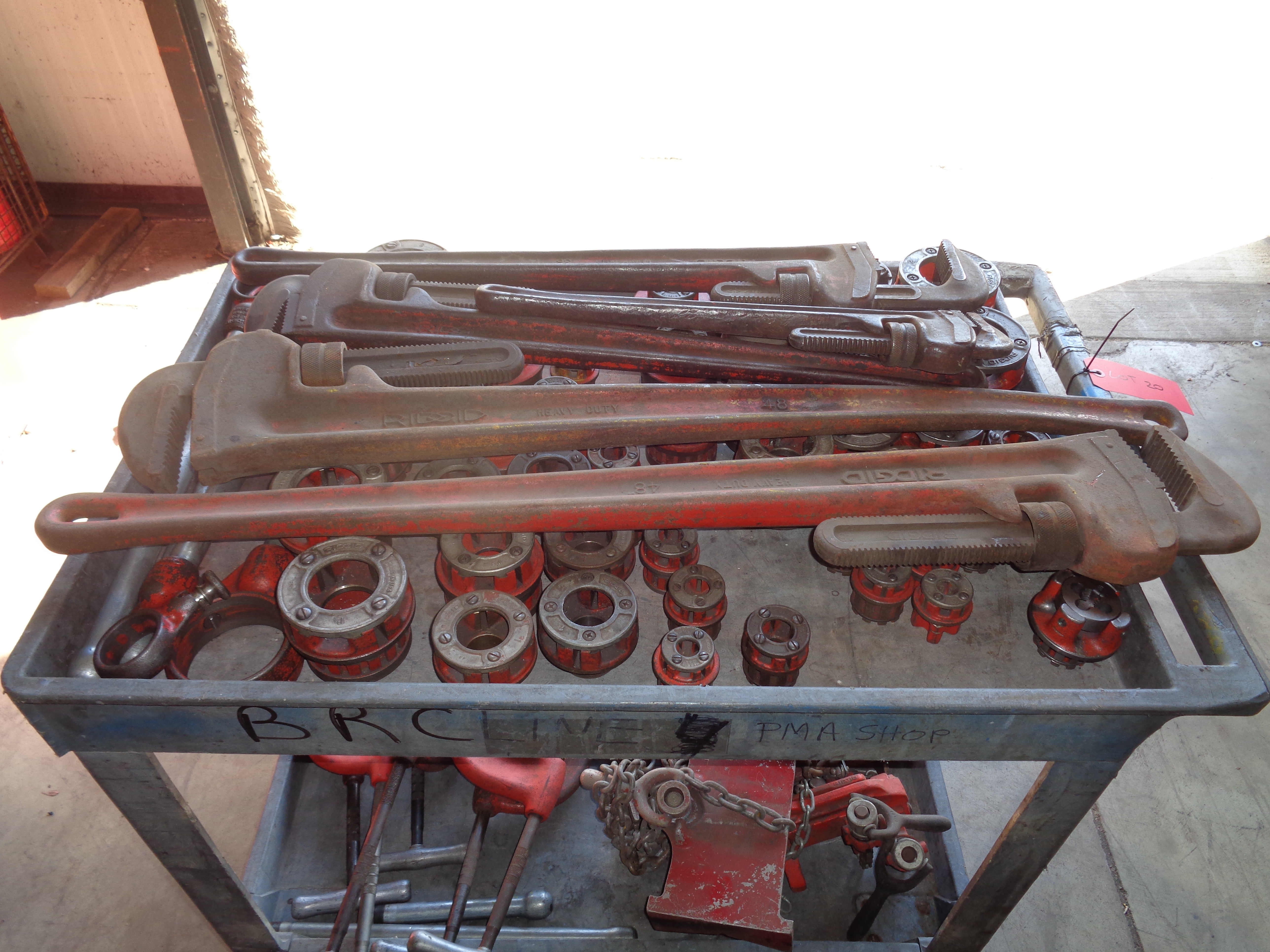 Pipe Wrenches, Clamps, Cutters, and Die - Image 3 of 7