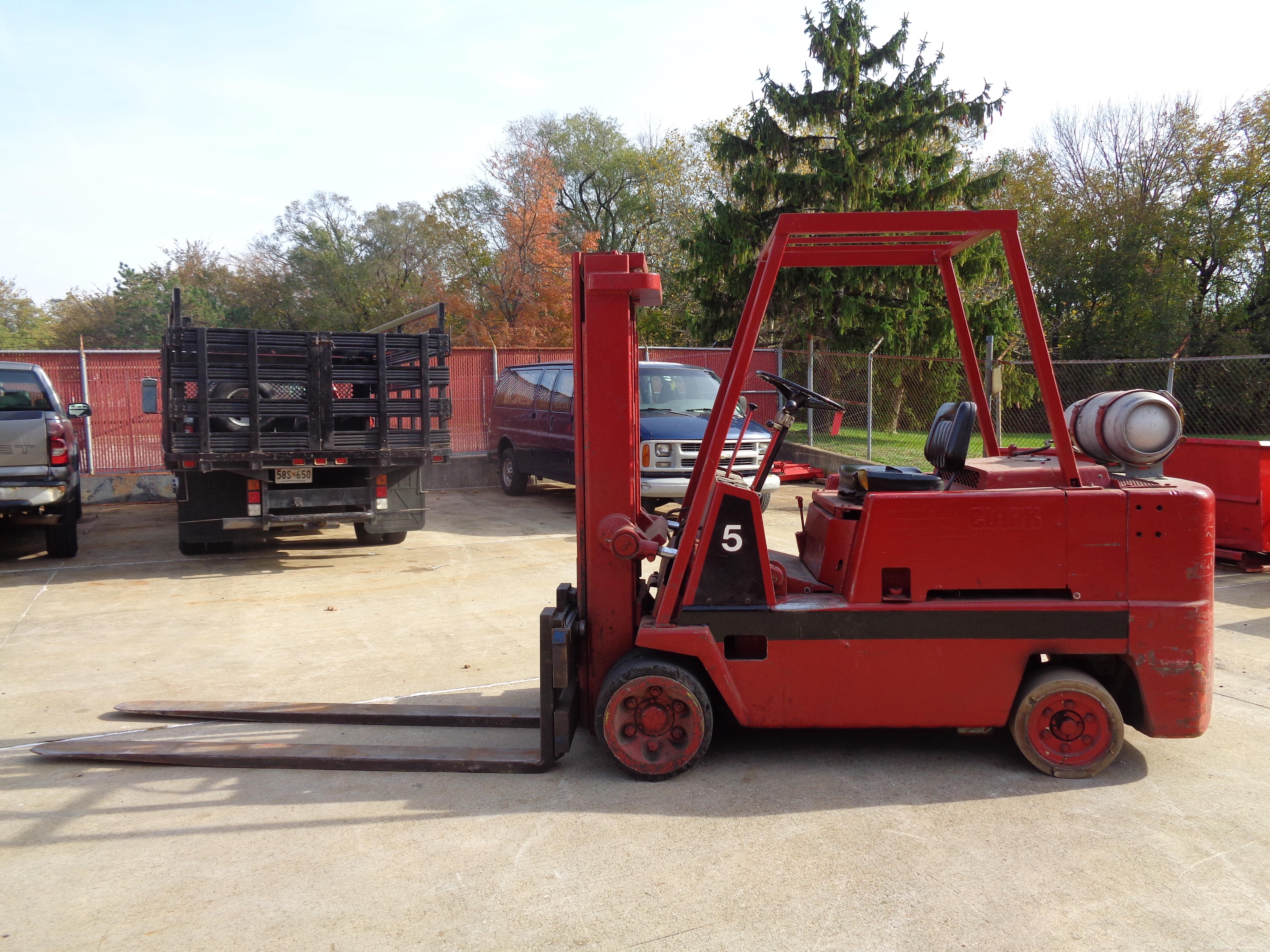 Clark C120-35 Forklift - 12,000 lbs
