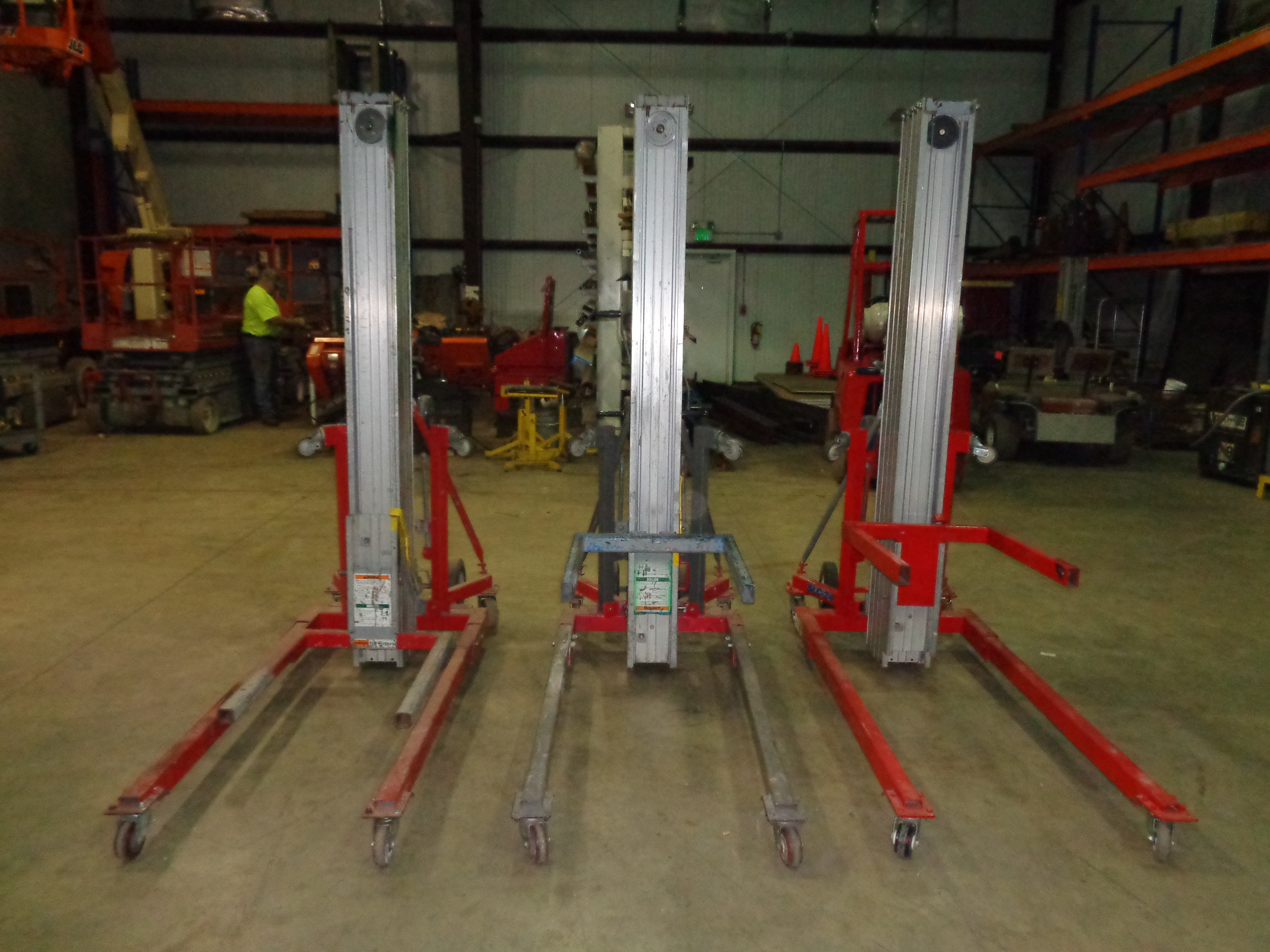 Lot of 3 Genie SLC-24 Duct Lifts - Image 2 of 4