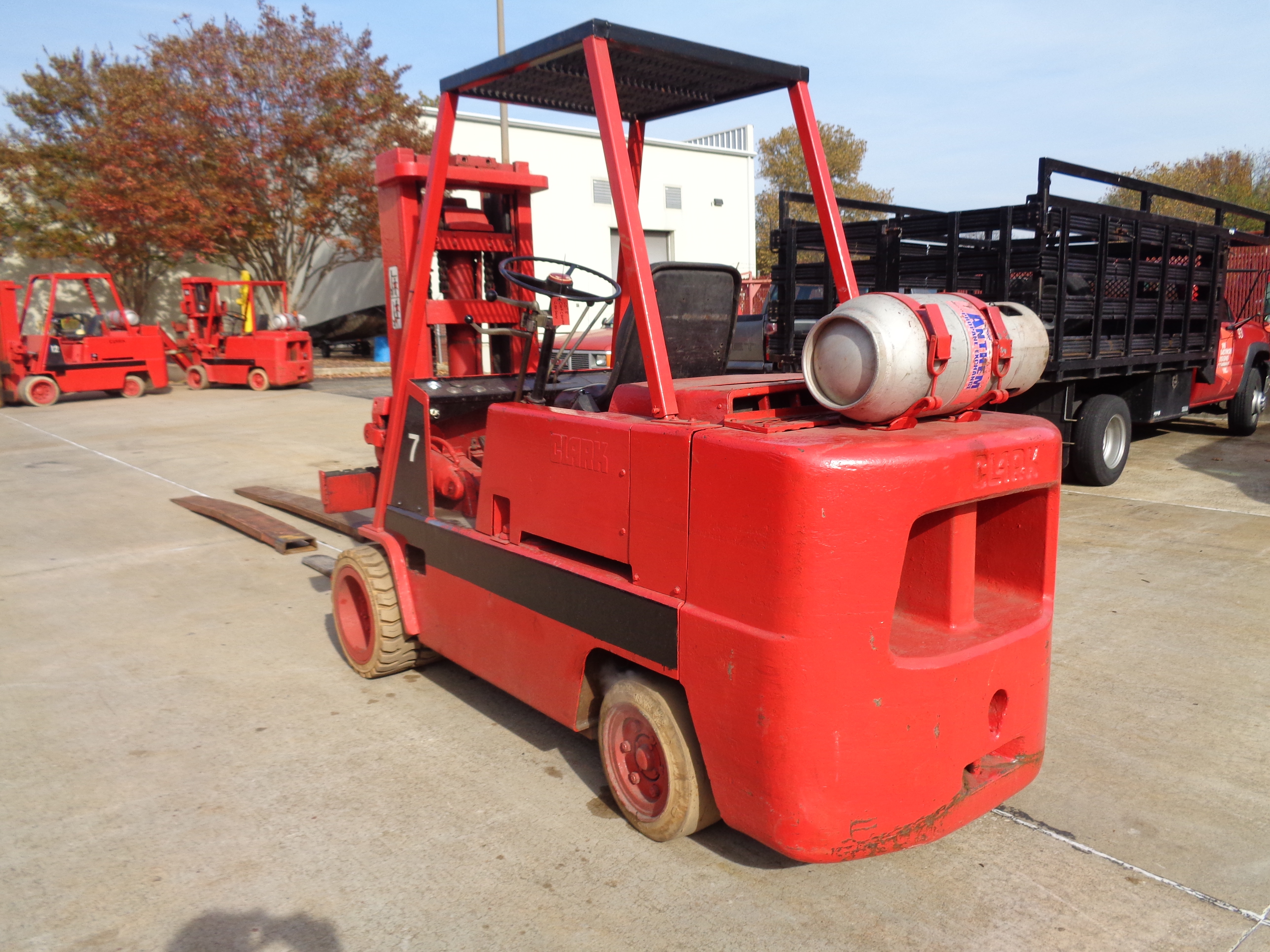 Clark C500-H120 Forklift- 12,000 lbs - Image 2 of 10