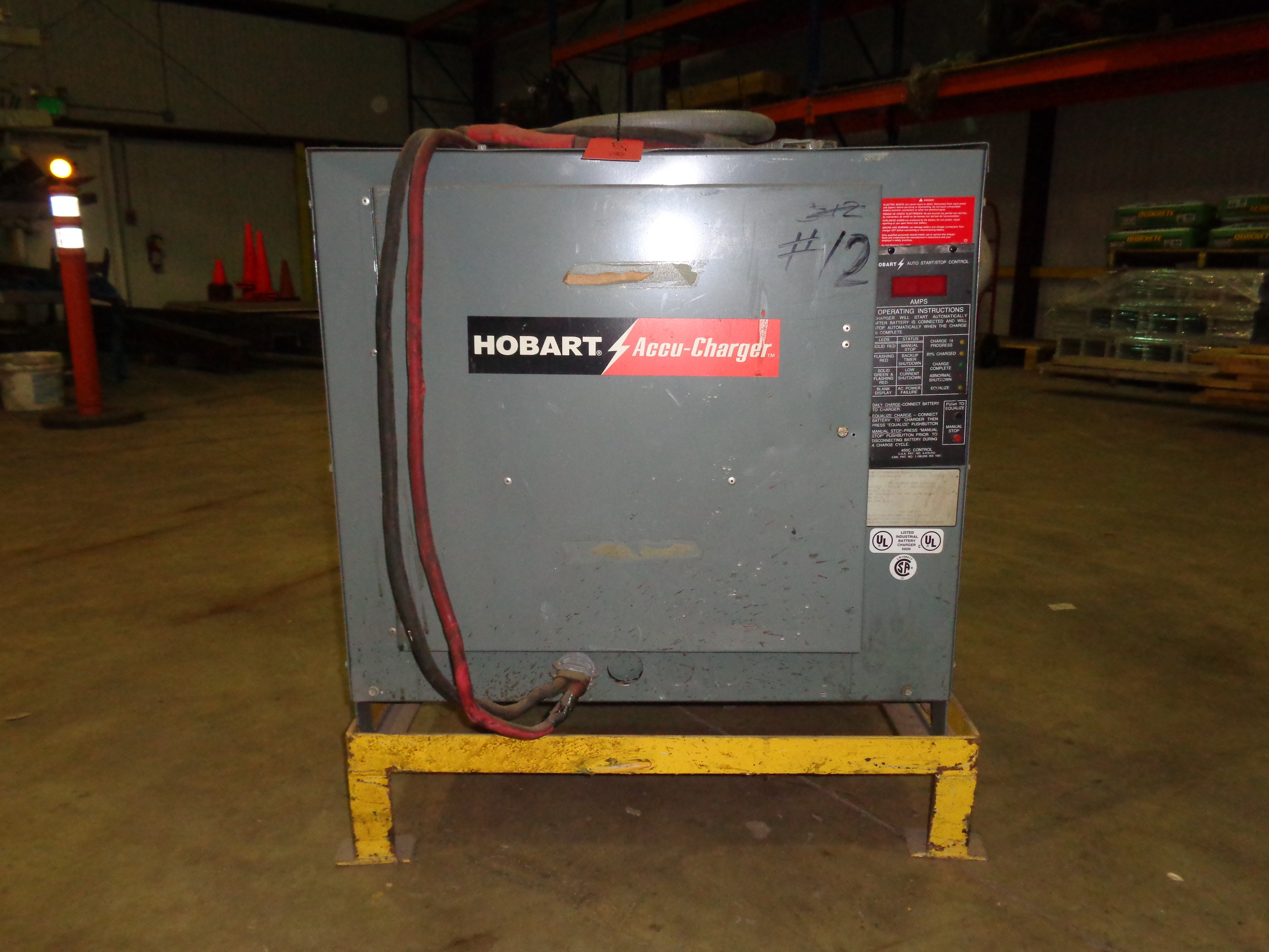 Hobart Accu-Charger Battery Charger 36V