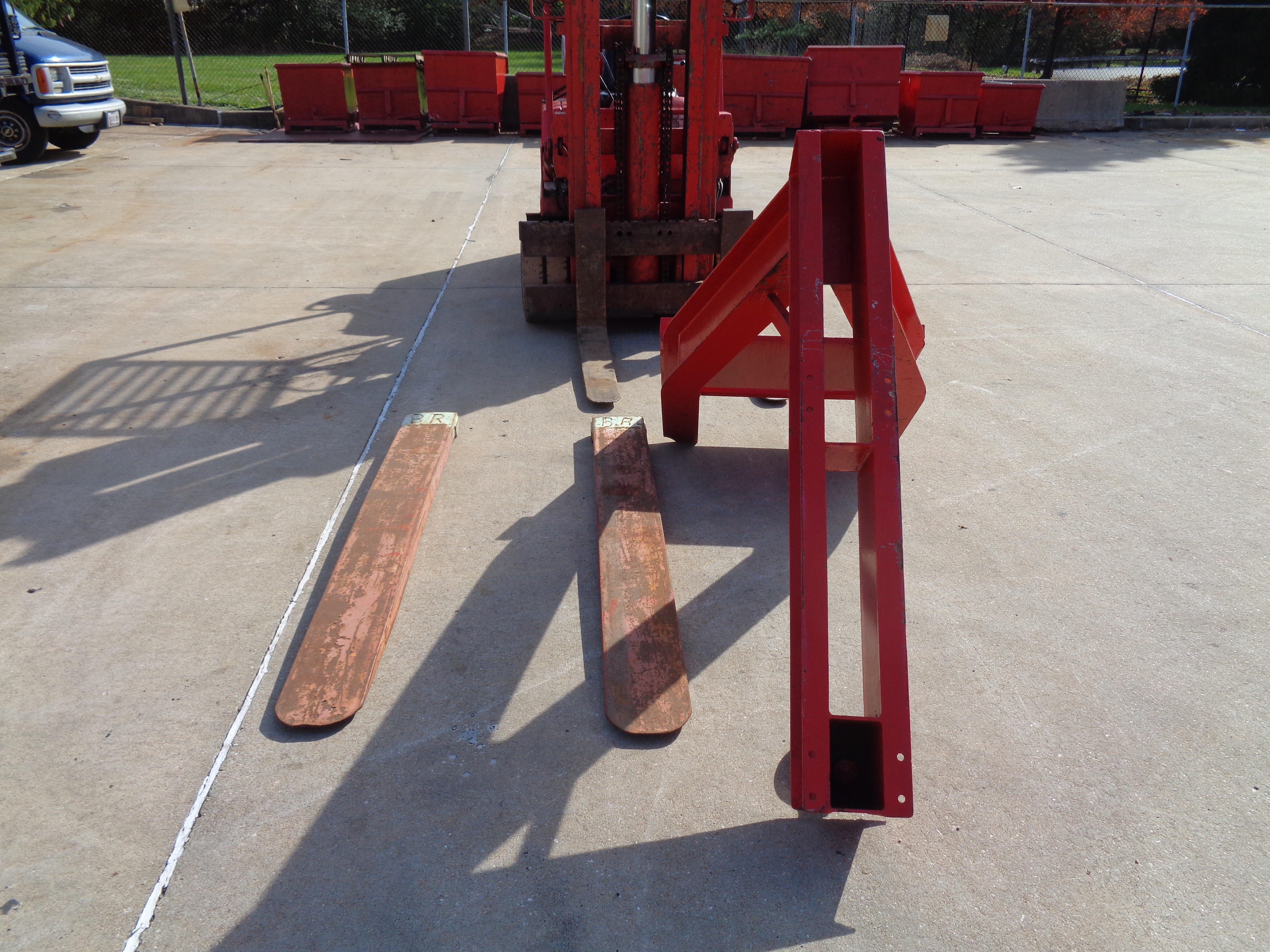 Clark C500-580 Forklift plus Boom- 8,000 lbs - Image 11 of 12