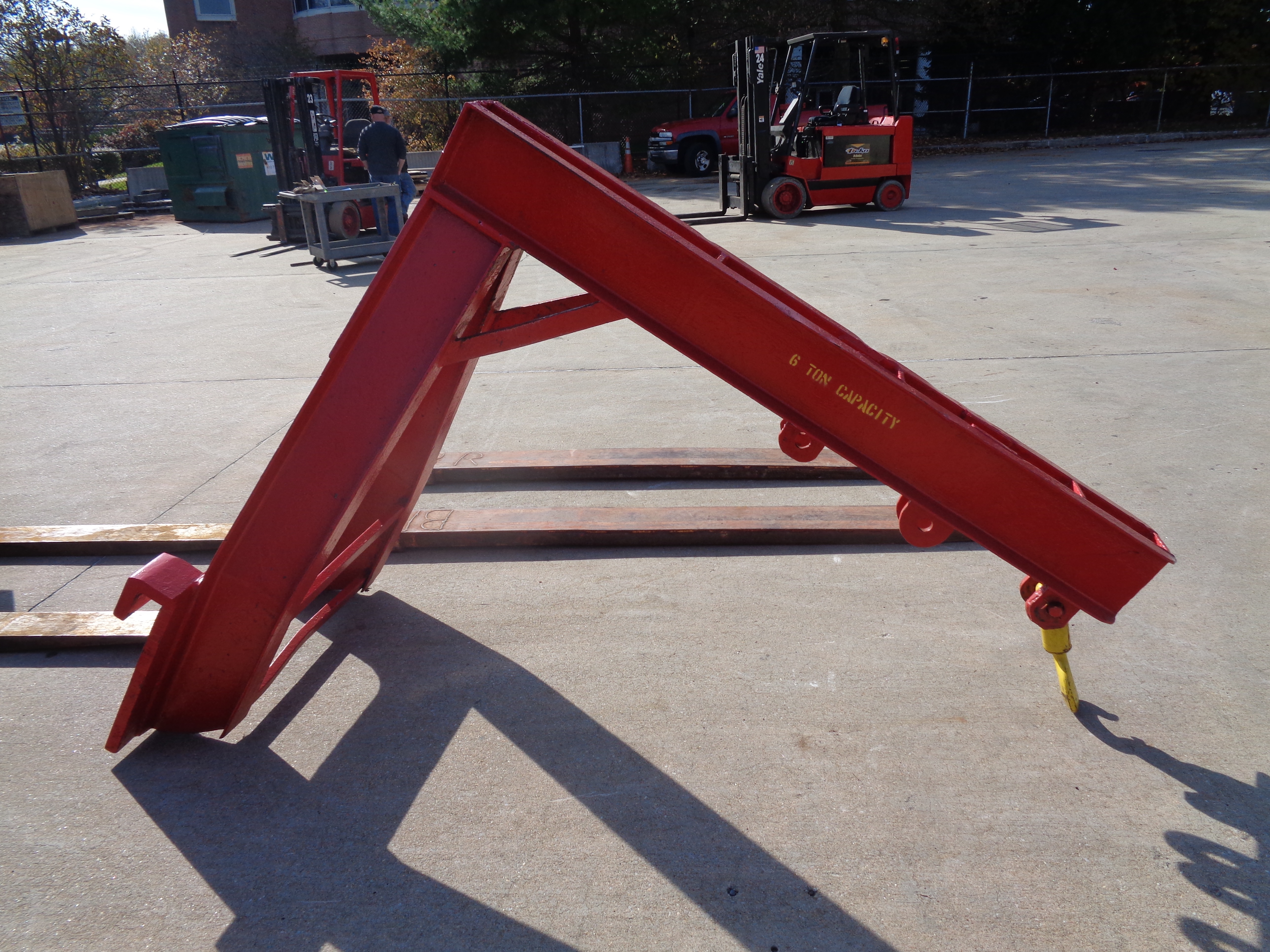 Clark C500-135 Forklift plus Boom- 14,000 lbs - Image 9 of 11