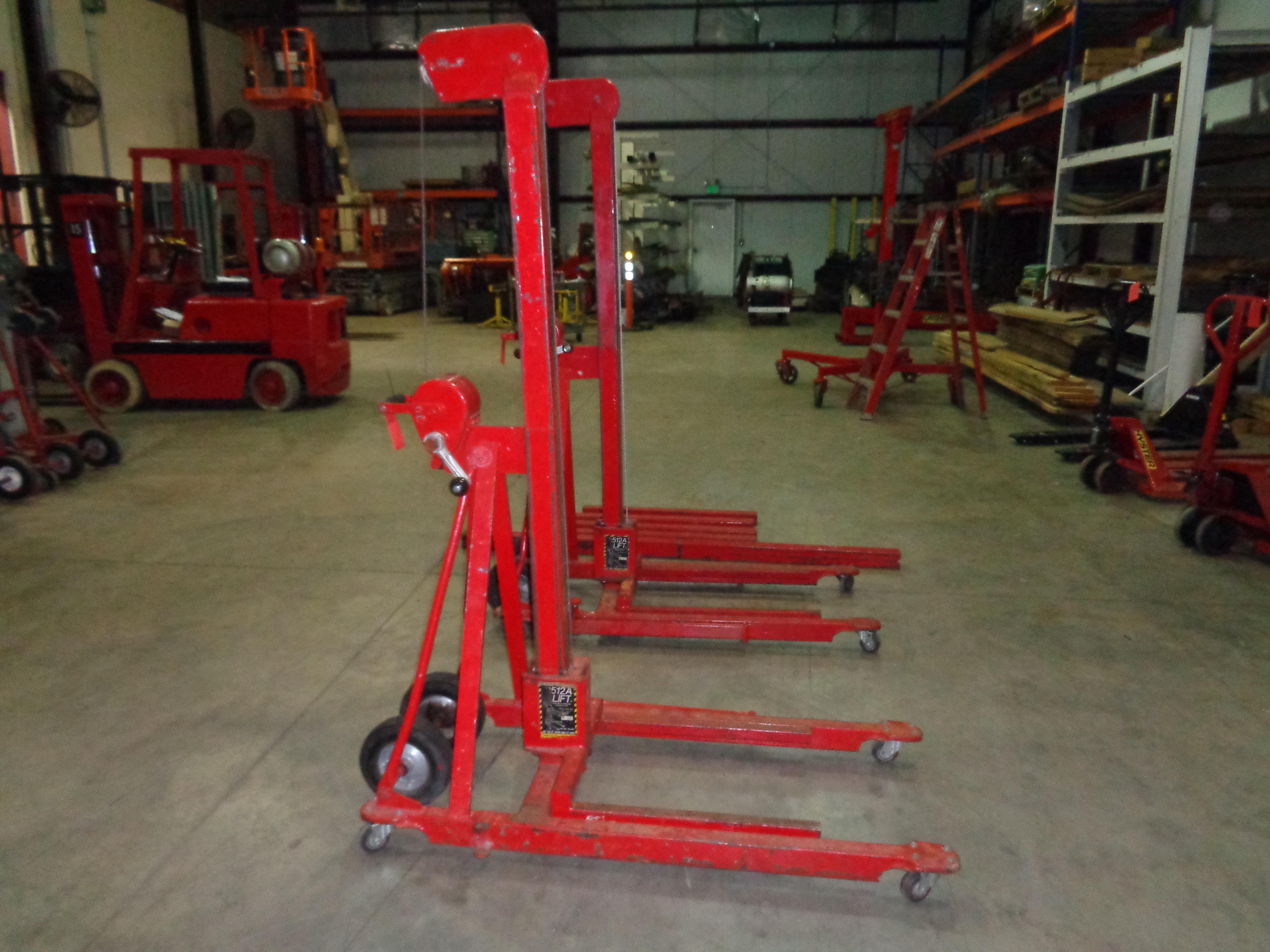 Lot of 2 - 500 lb 512A Lifts