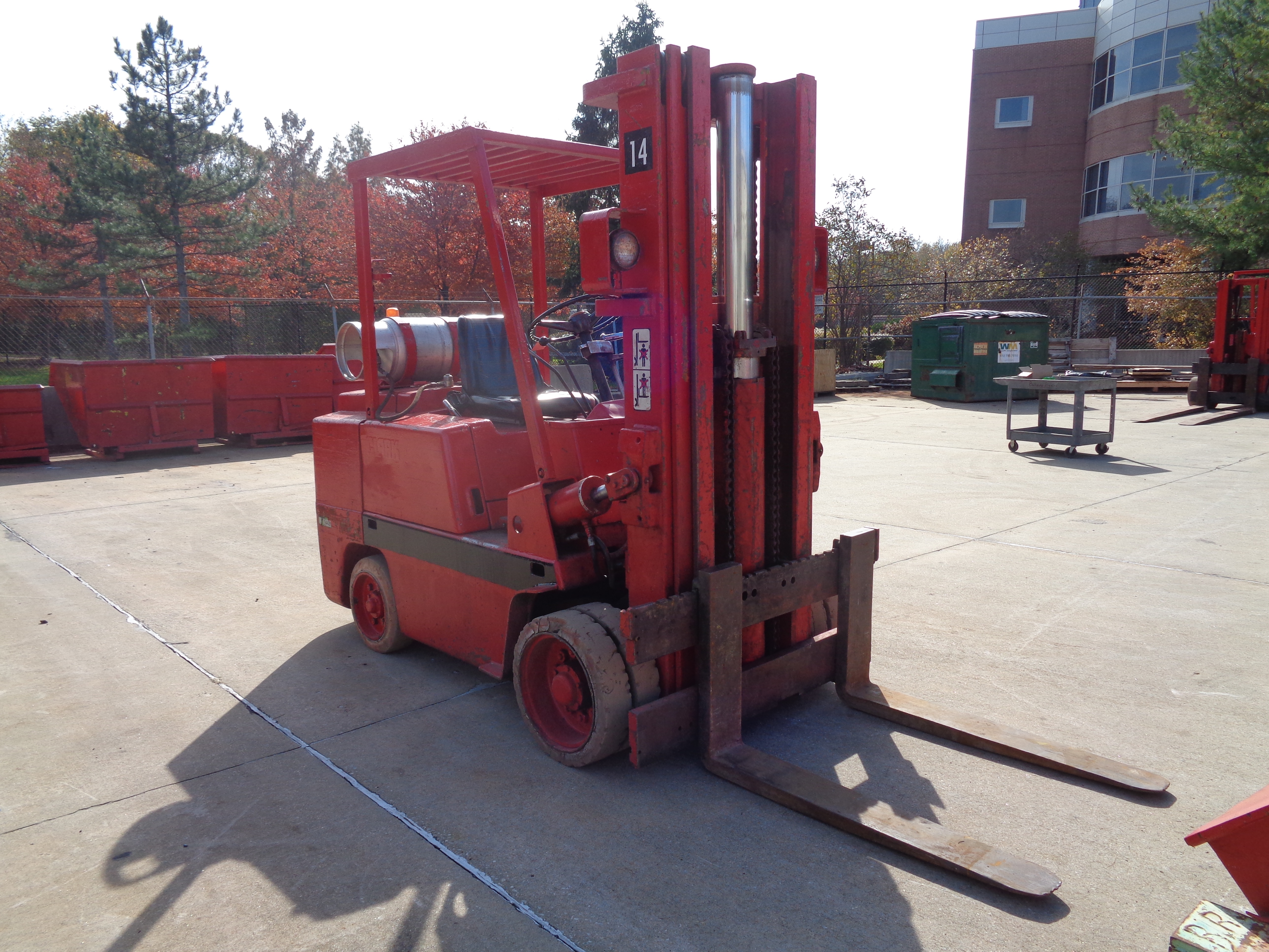 Clark C500-580 Forklift plus Boom- 8,000 lbs - Image 9 of 12