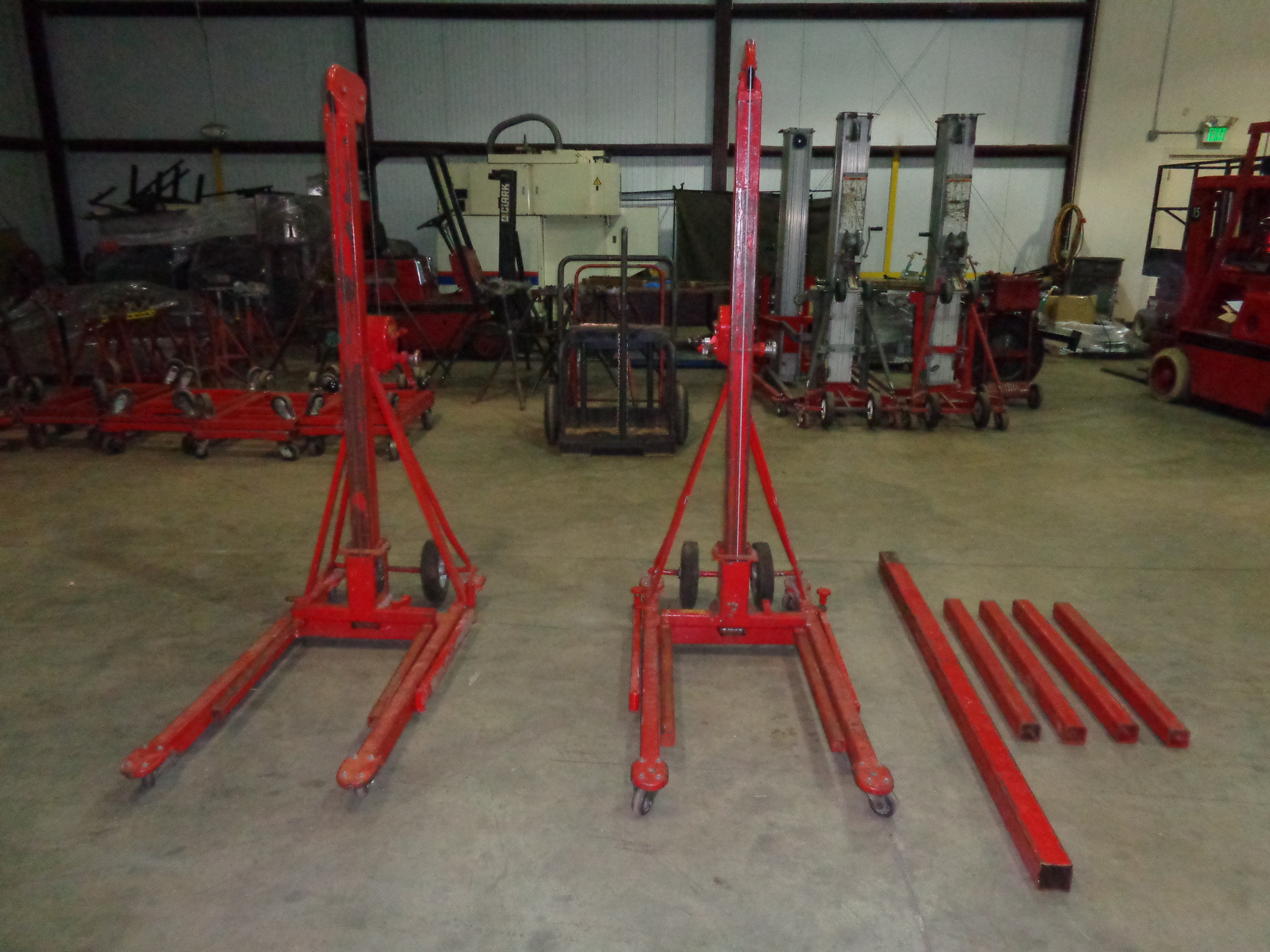 Lot of 2 - 500 lb 512A Lifts - Image 2 of 4
