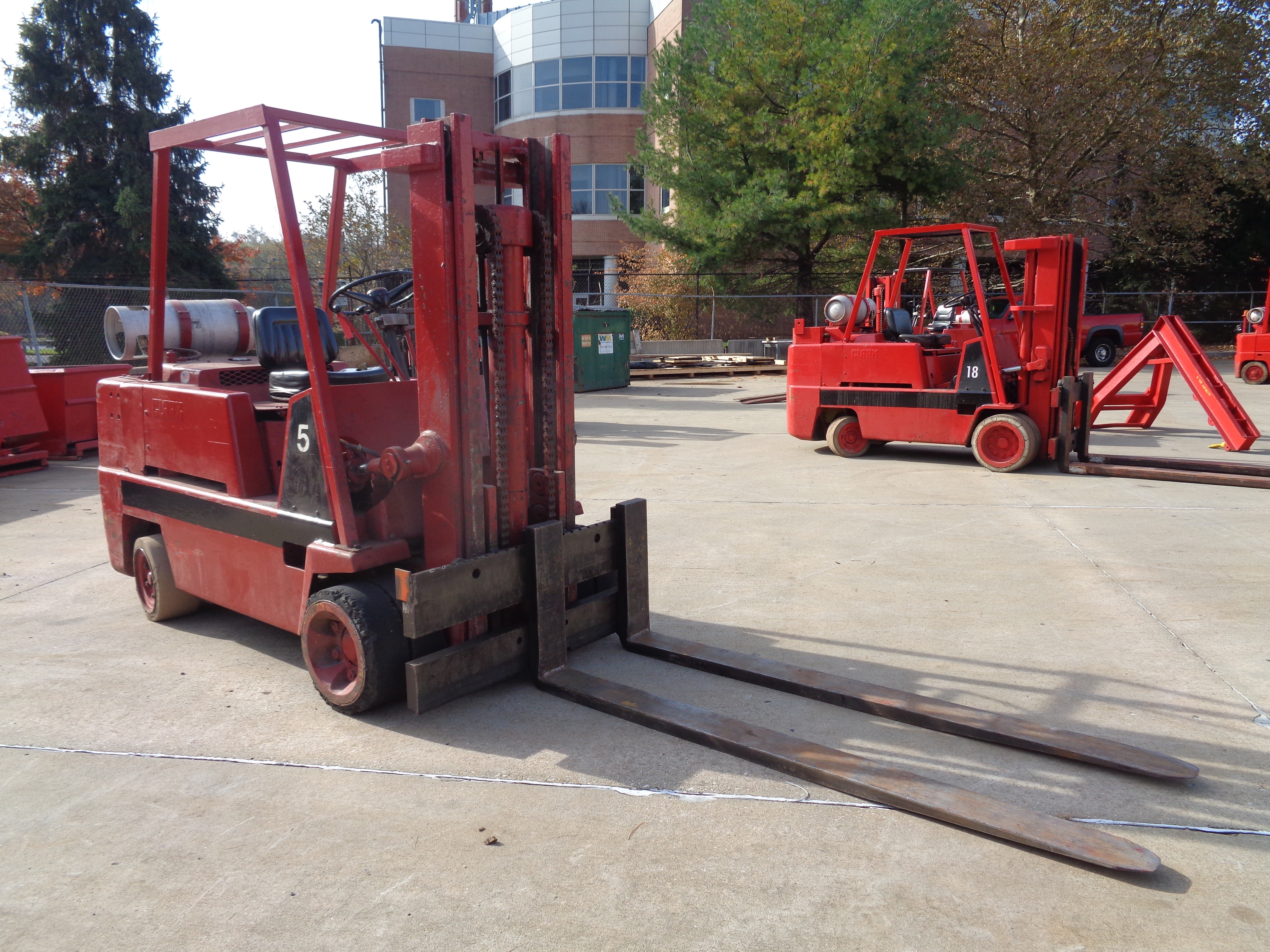 Clark C500-H120 Forklift- 12,000 lbs - Image 10 of 10