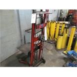 Wesco Die Lift Crank Type, 750lb Cap S/N 65600
